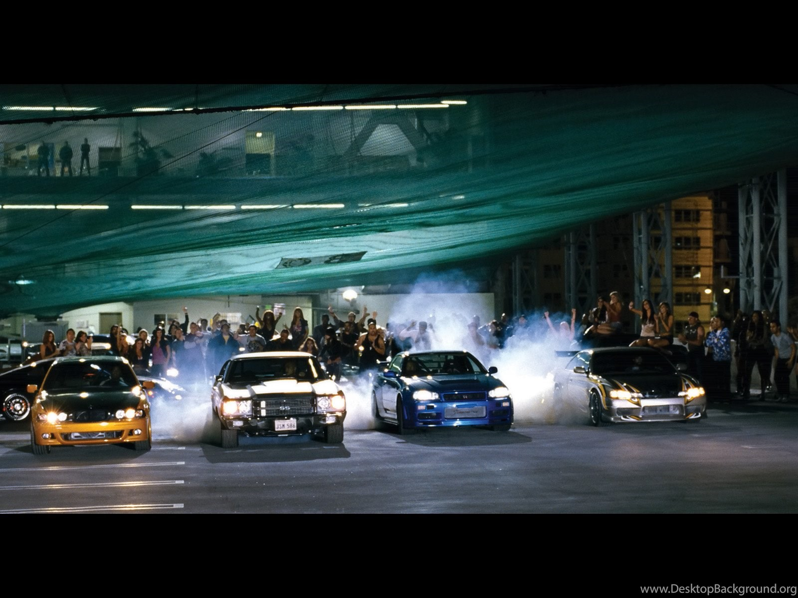 Fast And Furious 4 Cars Wallpapers Desktop Background