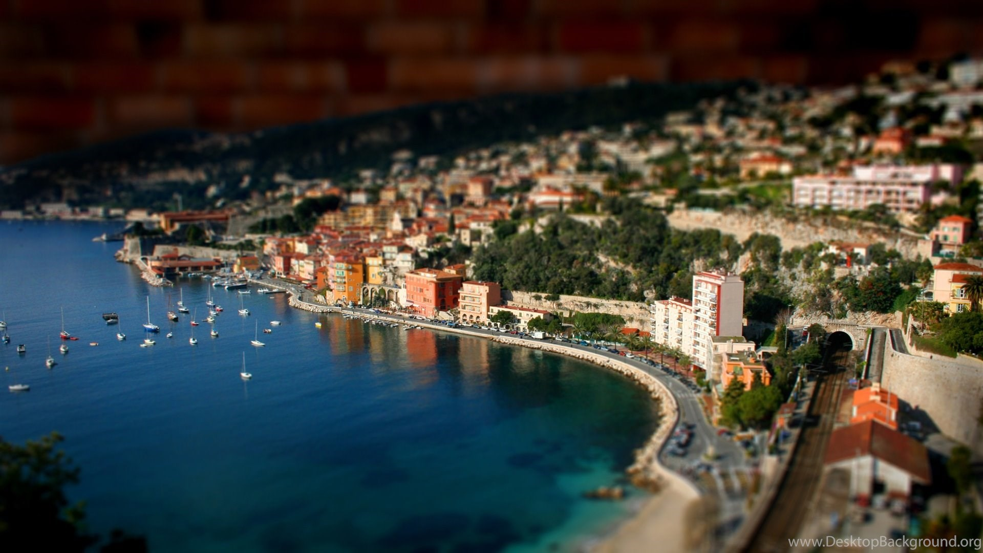 nice france, landscape, photography, miniature, 1920x1080 hd