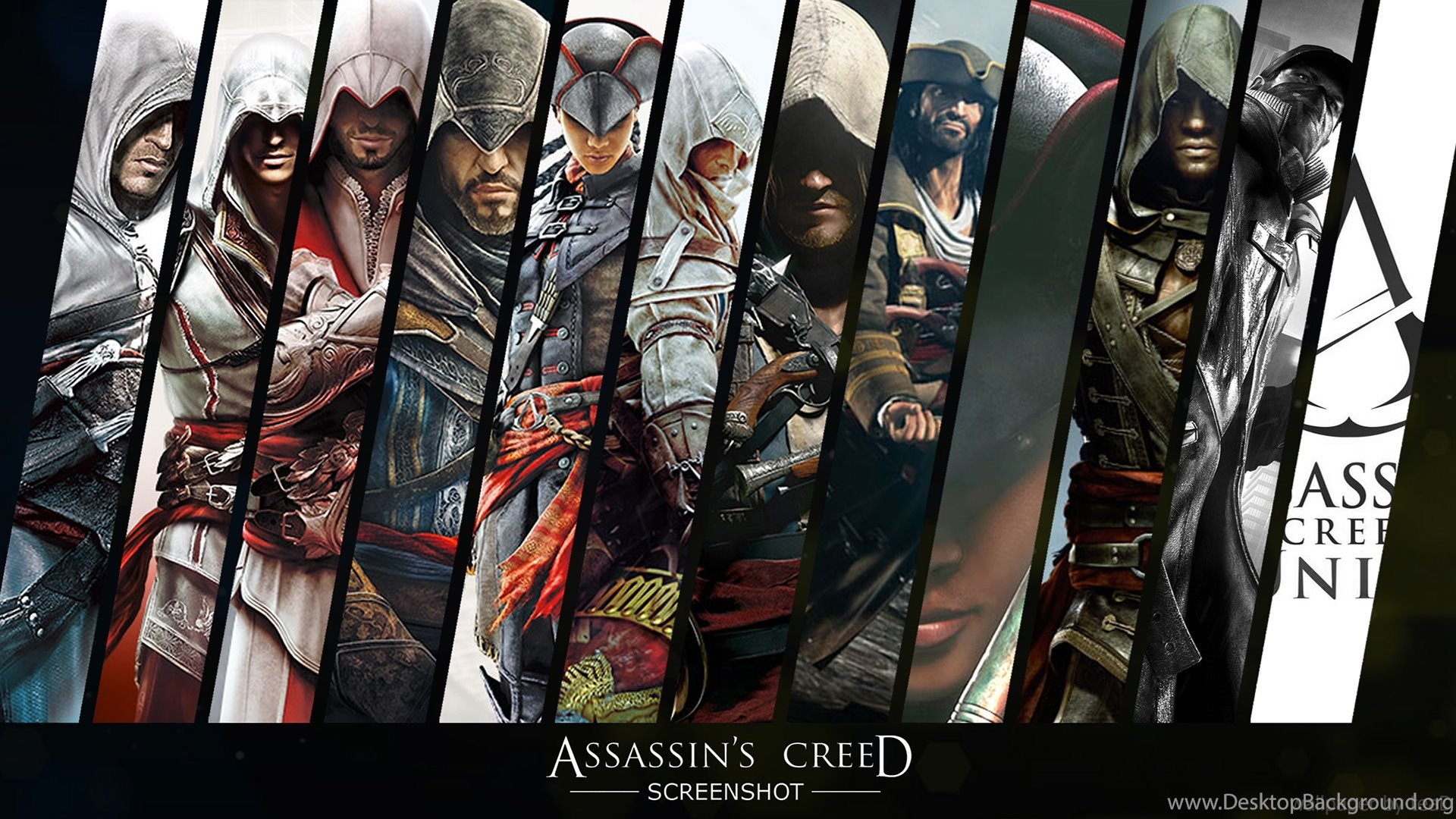 assassins creed wallpapers wide desktop background