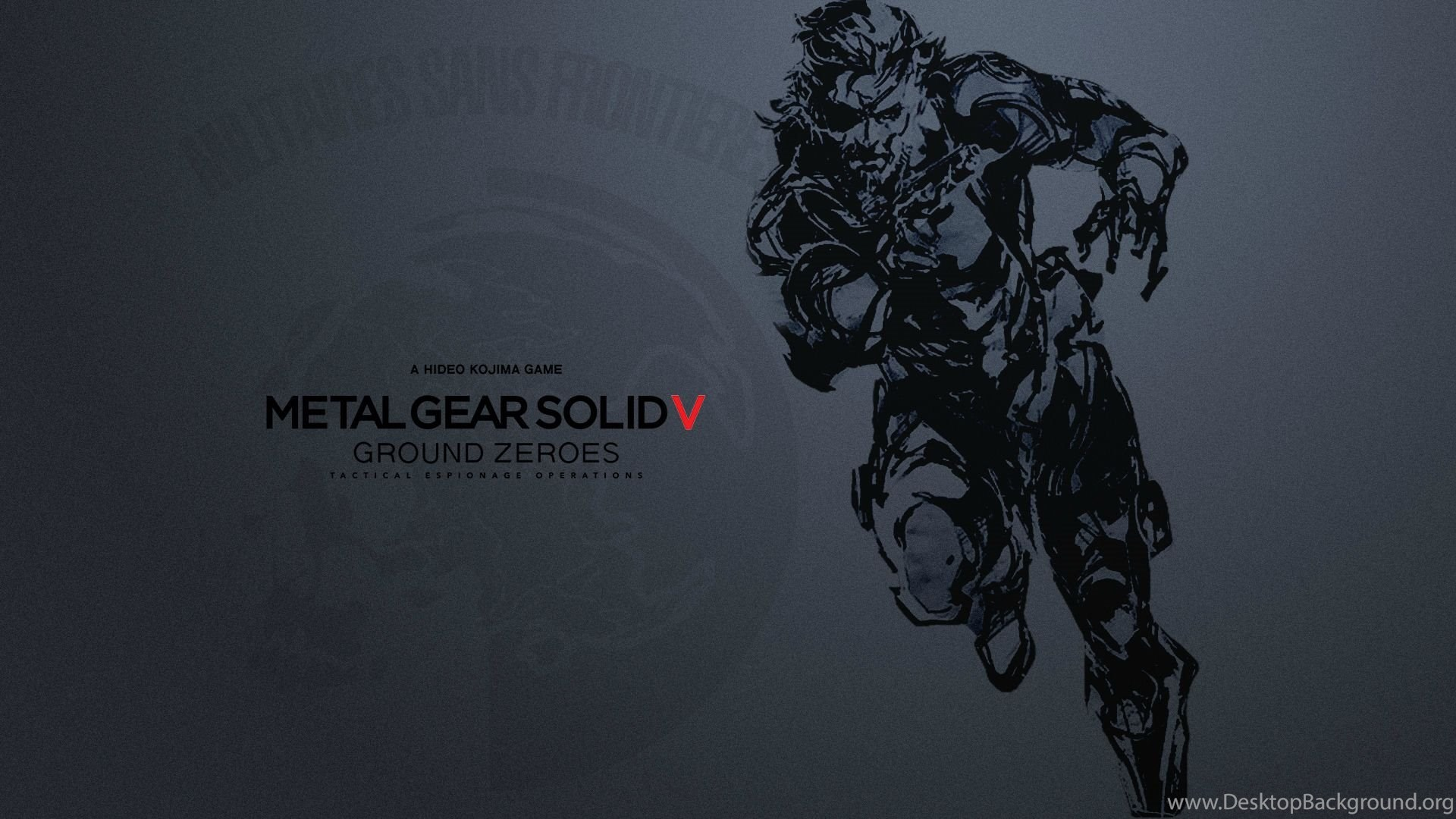 Metal Gear Solid Hd Wallpapers Desktop Background