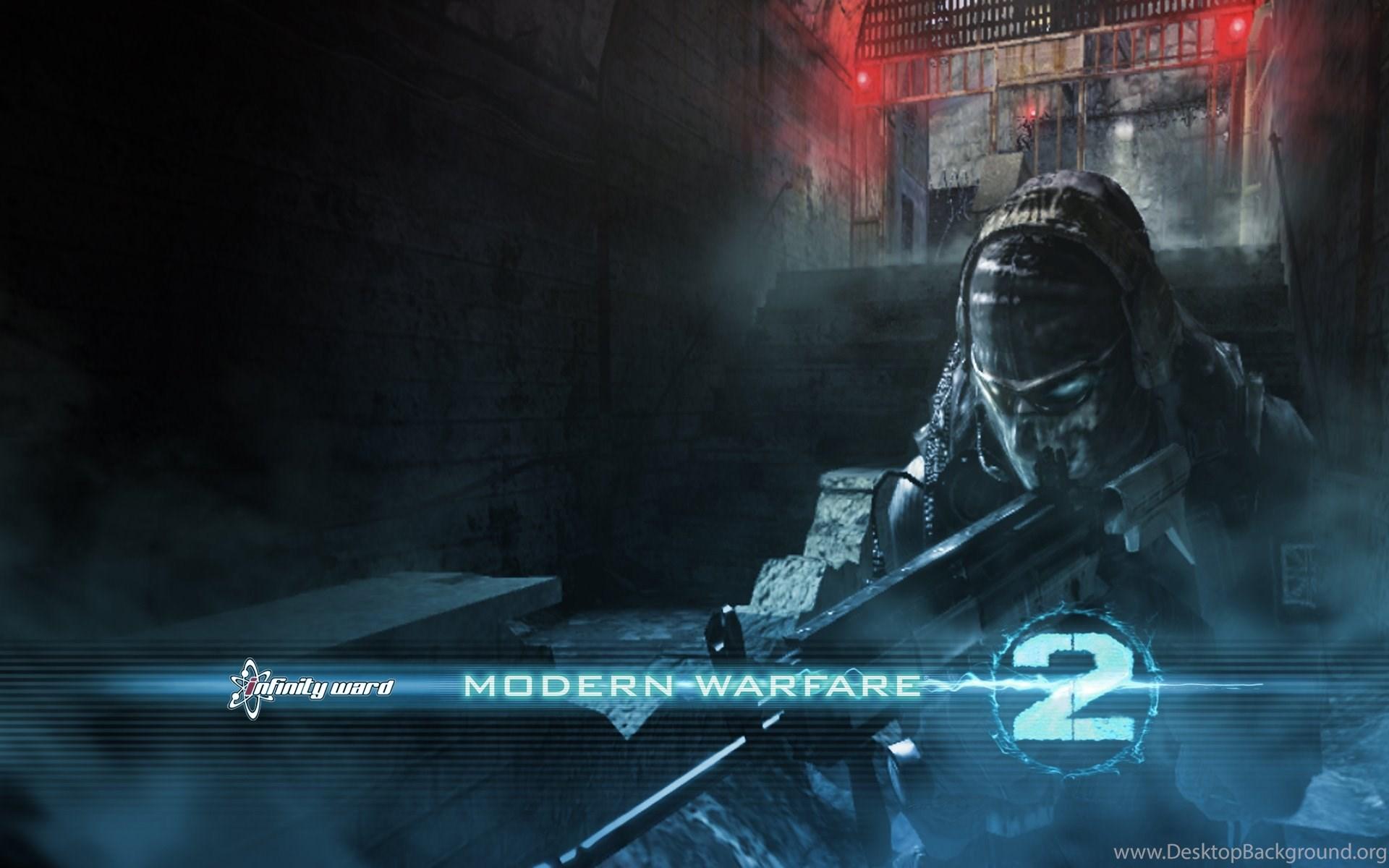 Call Of Duty Modern Warfare 2 Ghost Cod Games 1920x1200 Hd