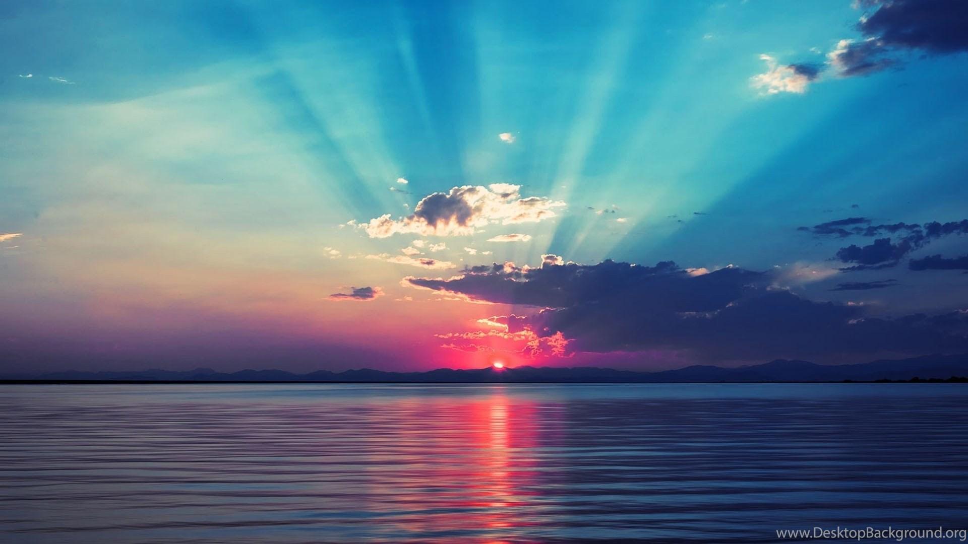 Lovely Beach Sunrise Wallpapers Desktop Background