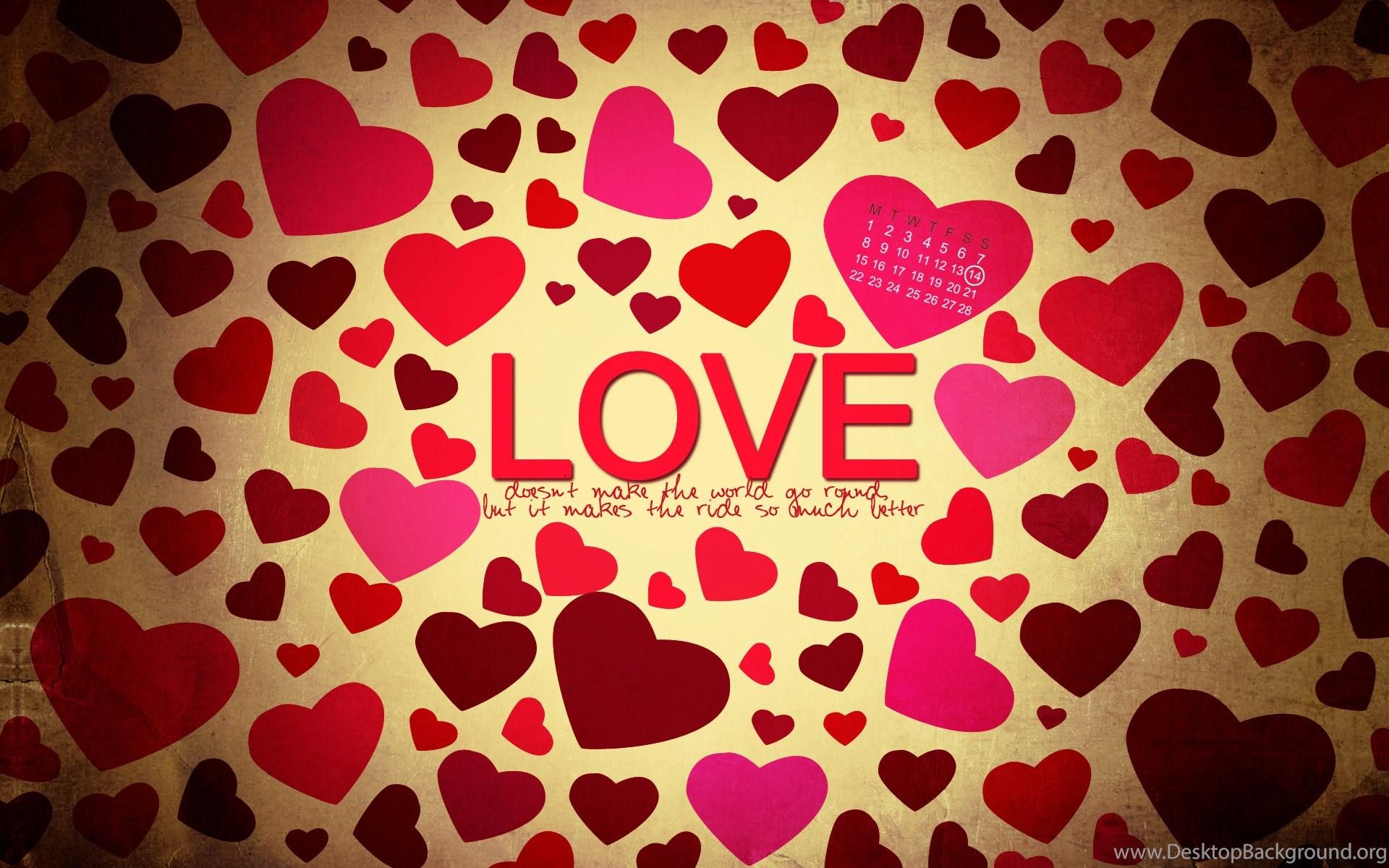 Hearts, Love, Countless, Desktop, Walls, Wallpapers ( Desktop Background