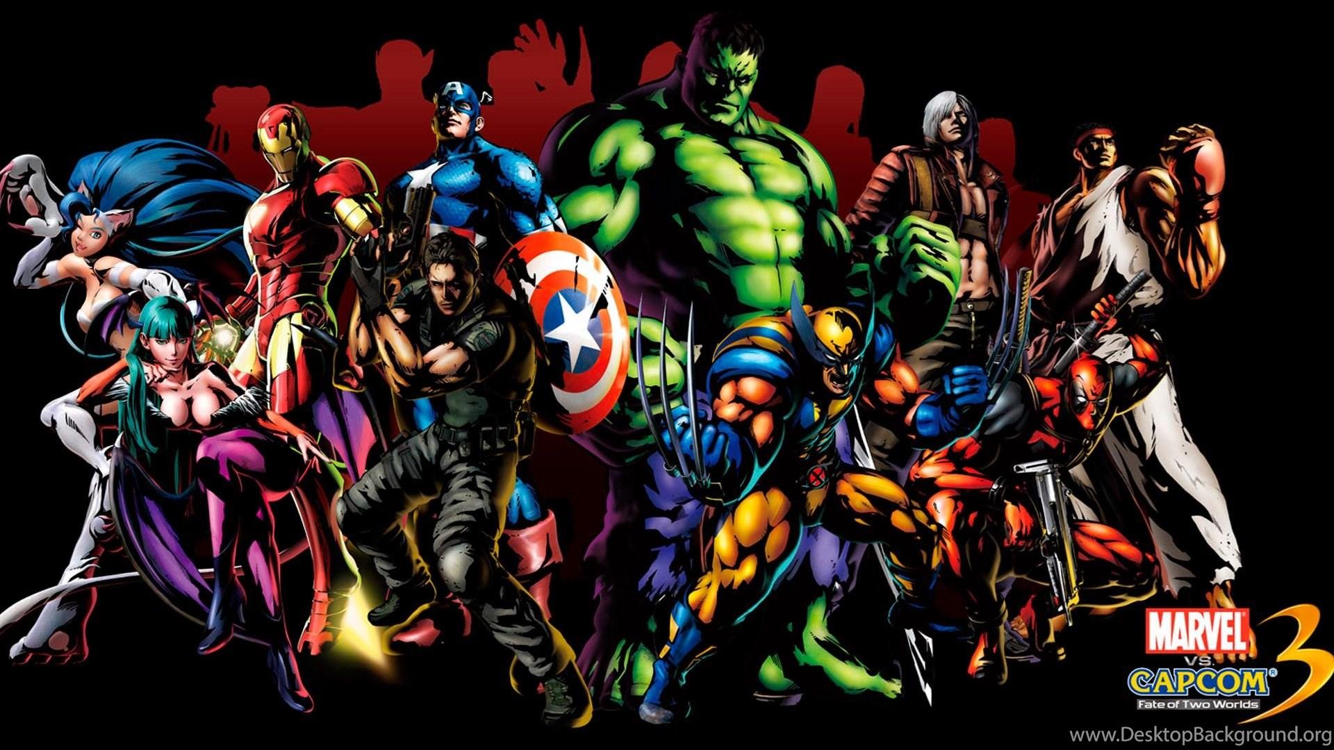 Free Marvel Superhero Wallpapers Desktop Backgrounds @FEL ...