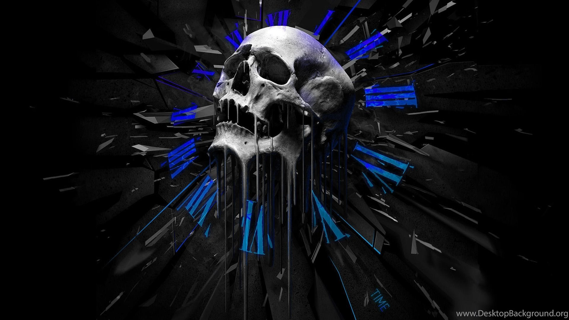 High Resolution Skull Cool Wallpapers Full Size Siwallpaperhd 16444 Desktop Background