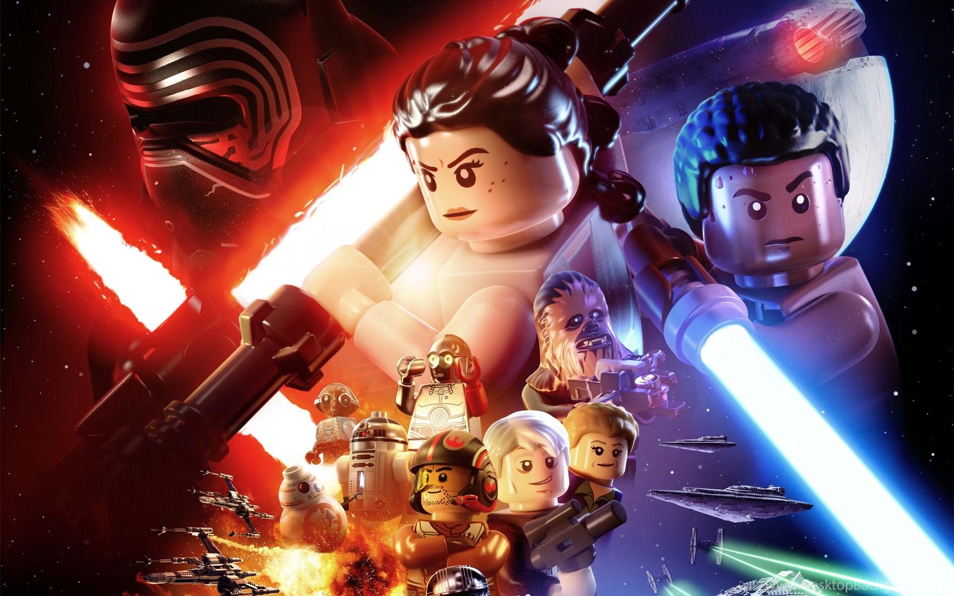 1 Lego Star Wars The Force Awakens Hd Wallpapers Desktop Background
