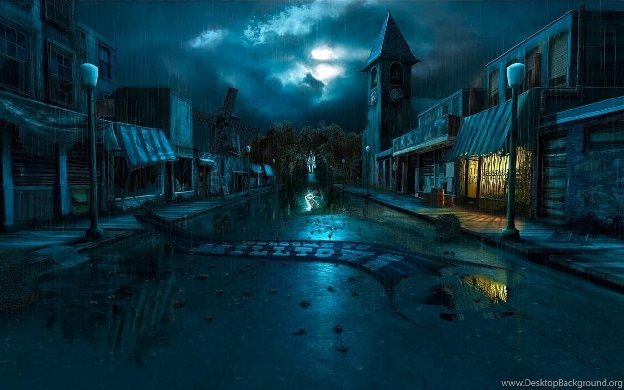 Anime Rain Backgrounds Viewing Gallery Desktop Background
