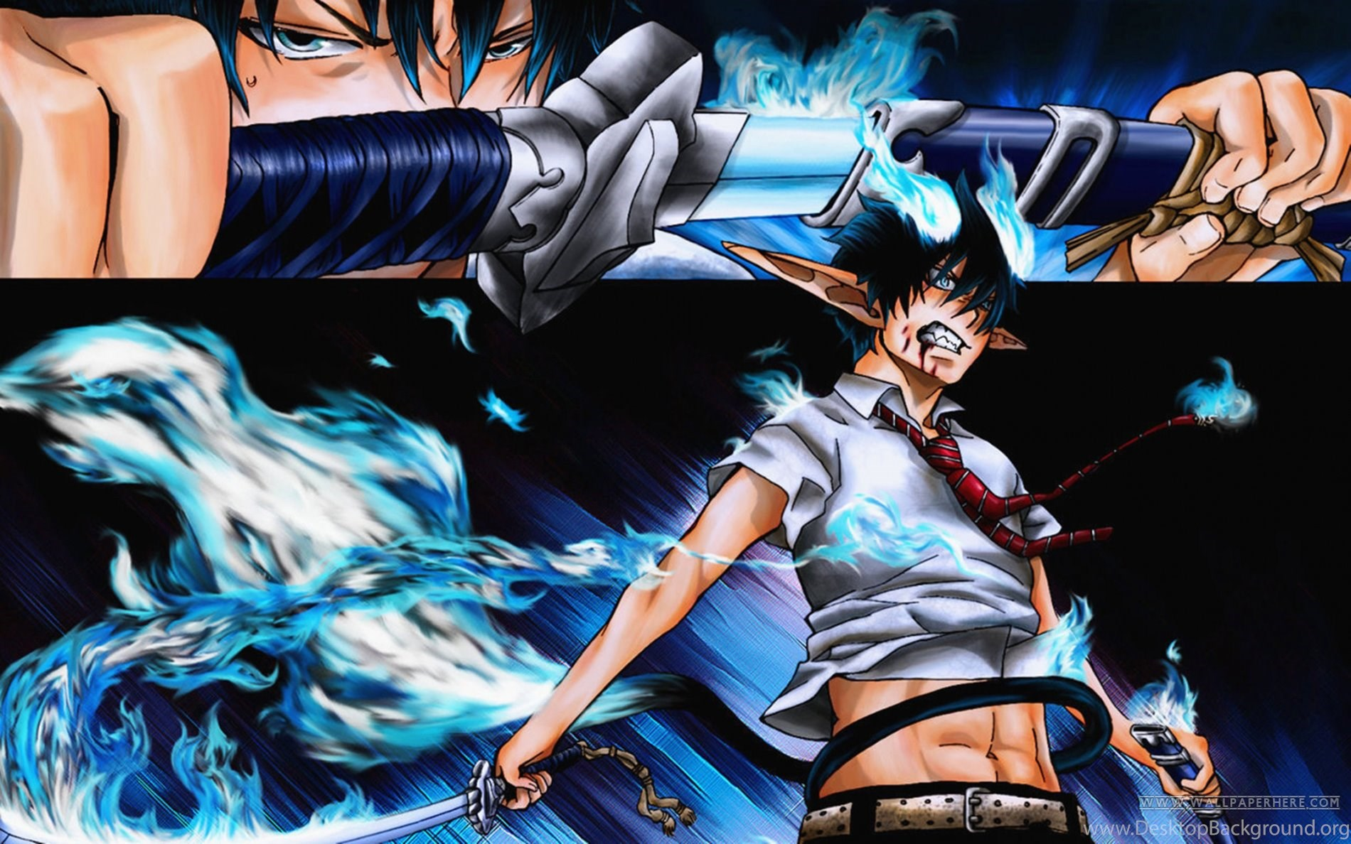 Ao No Exorcist Hd Wallpapers Desktop Background