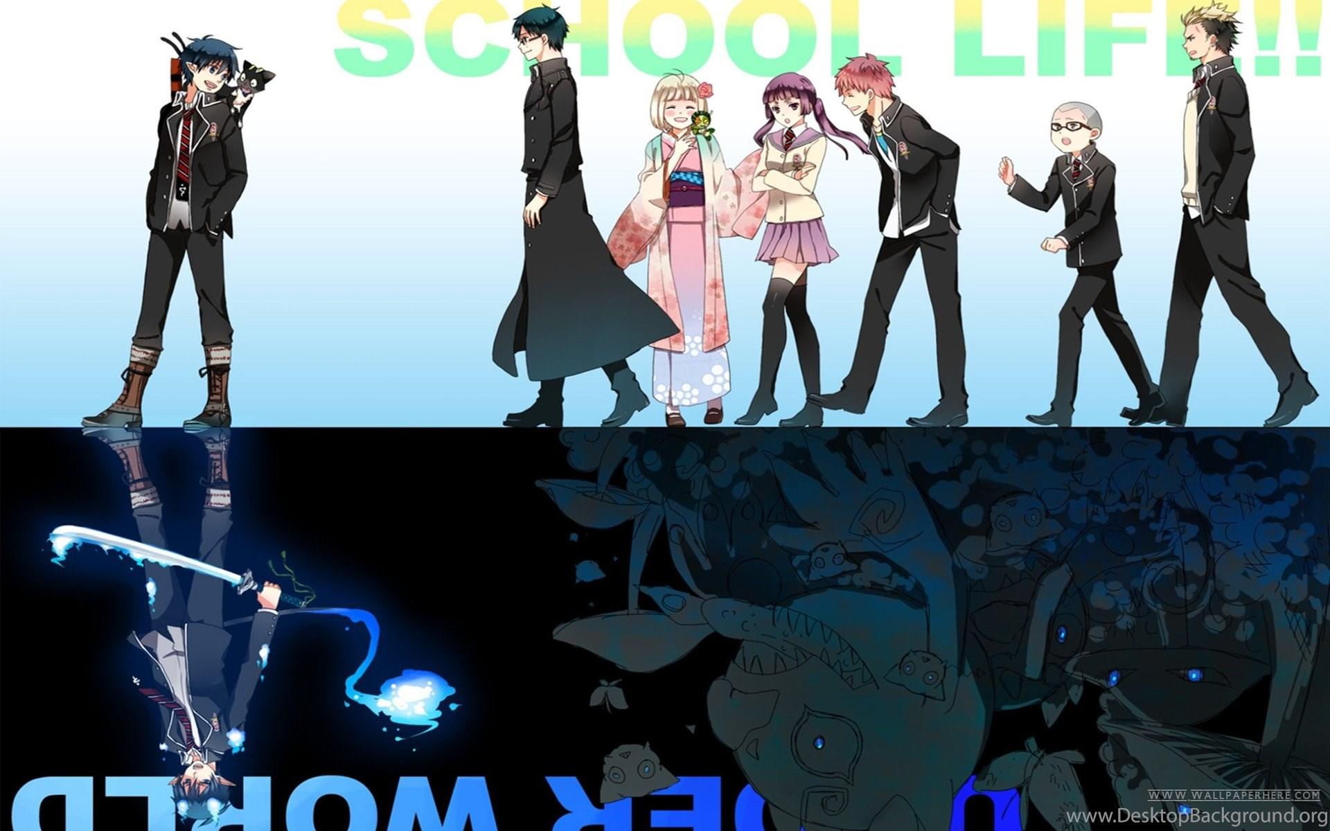 16 Kuro Ao No Exorcist Hd Wallpapers Desktop Background