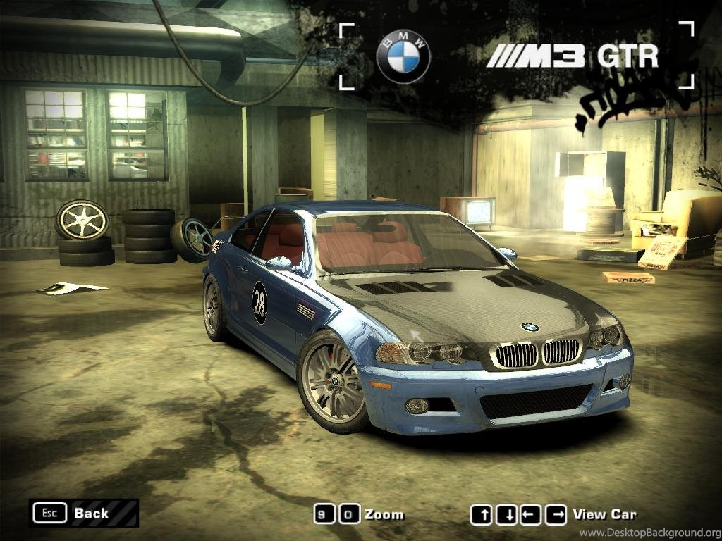 Wallpapers Need For Speed Most Wanted Bmw Nfs Mw Car Game 1024x768