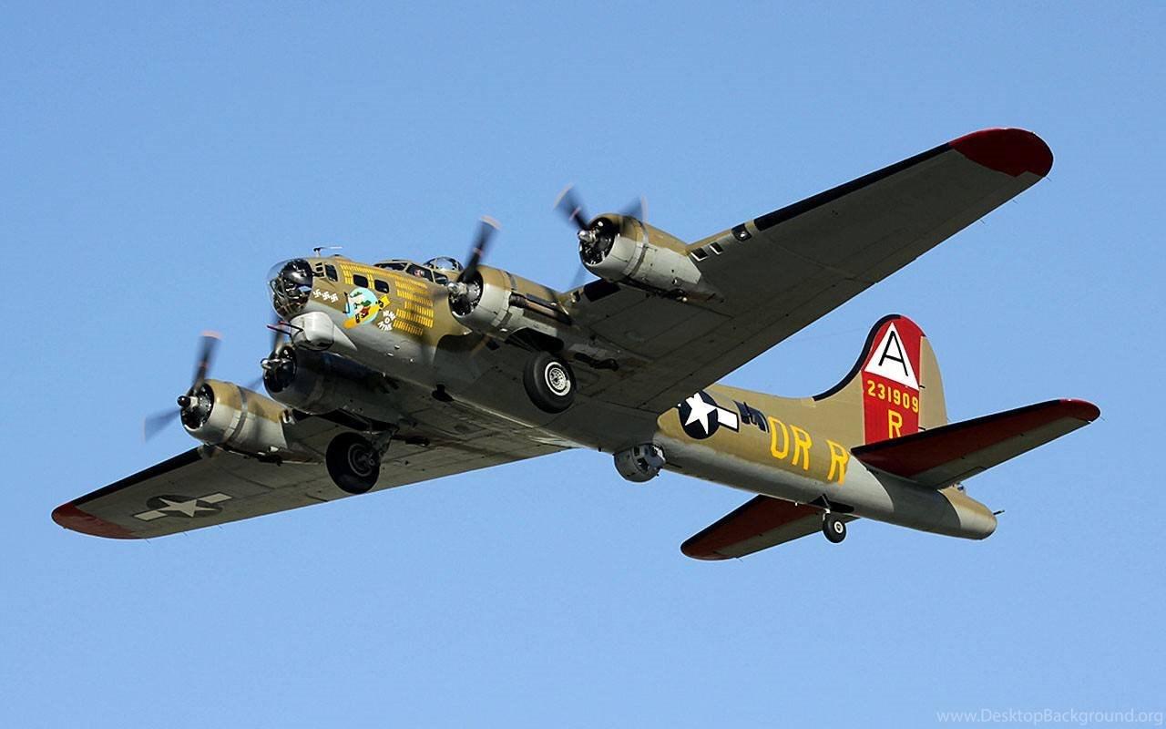 Aircraft Bomber Warbird B 17 Flying Fortress Wallpapers Desktop