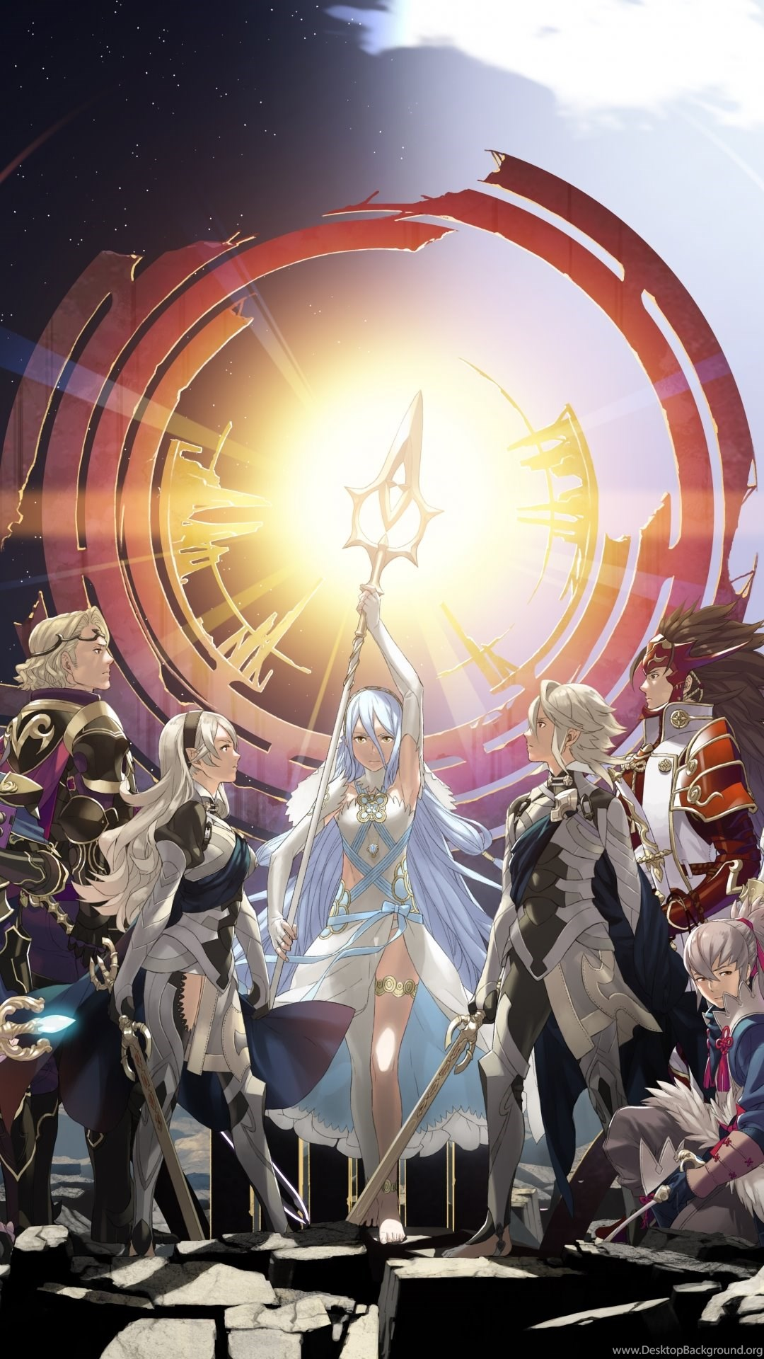 Iphone 6 Video Game Fire Emblem Fates Wallpapers Id 594408