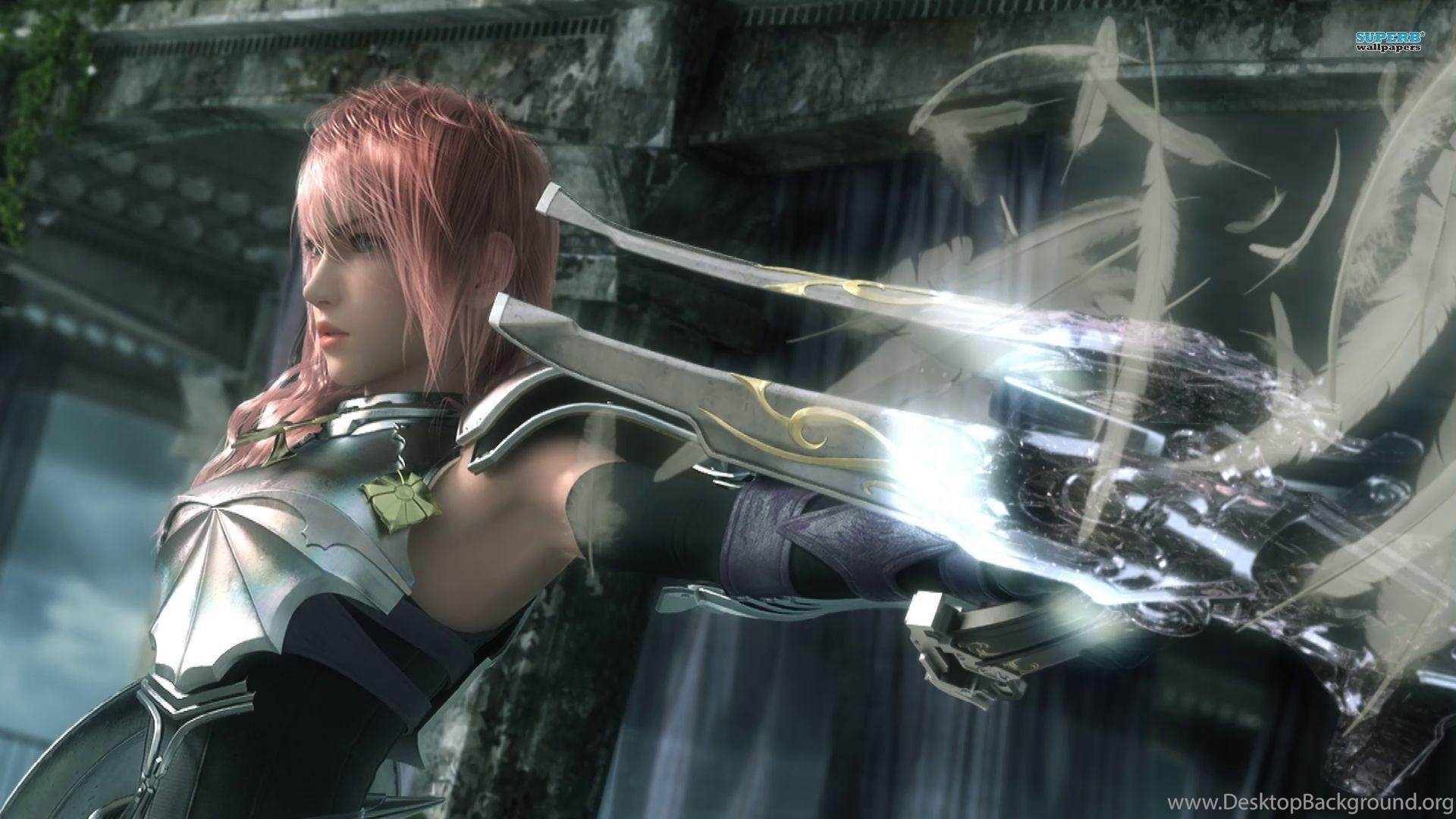 ffxiii 2 lightning wallpaper ( desktop background