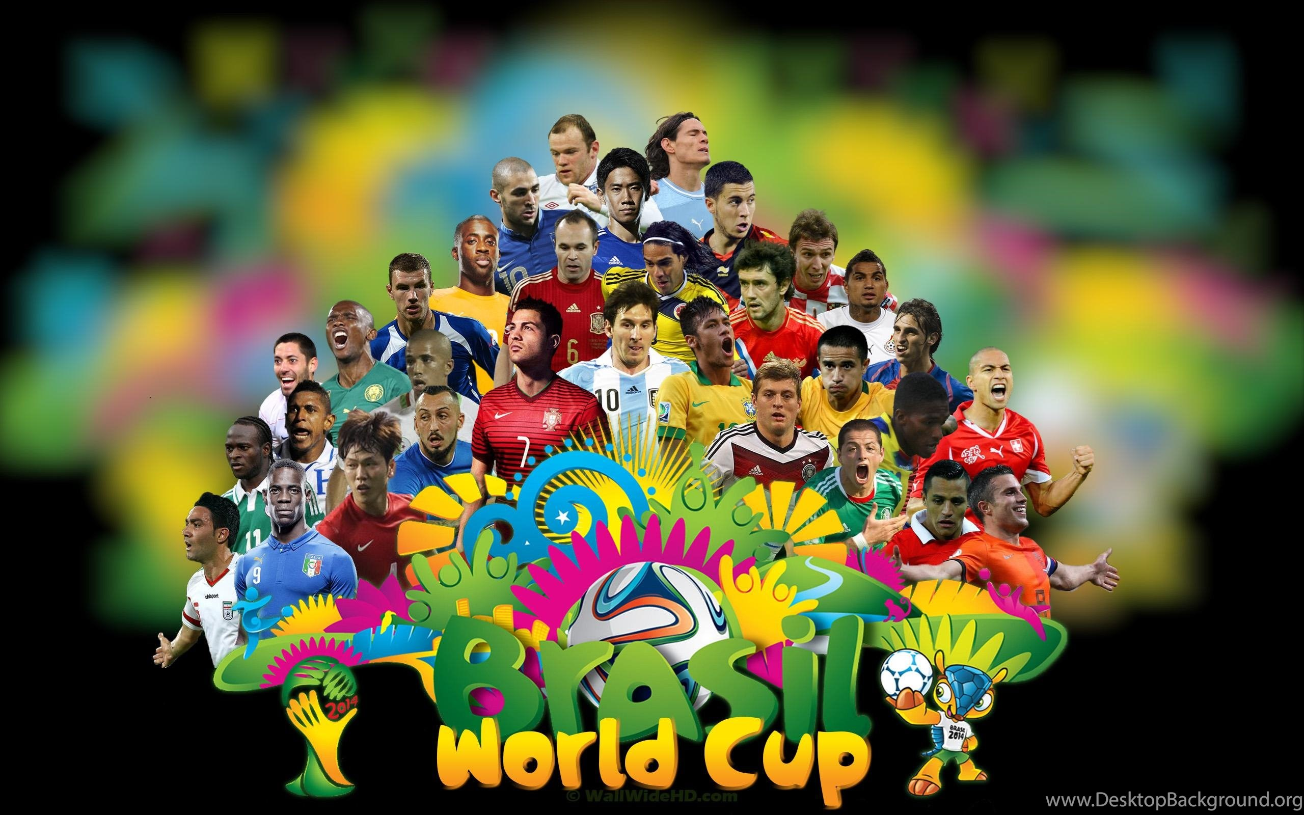 2014 Fifa World Cup All Stars Football Players Wallpapers Sports