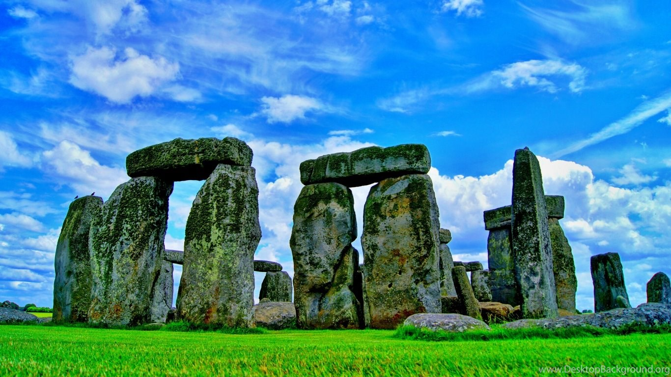 laptop 1366x768 stonehenge wallpapers hd, desktop backgrounds