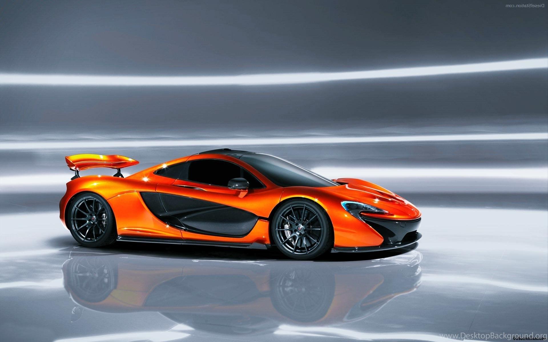 2015 McLaren P1 Orange Desktop Wallpapers HD