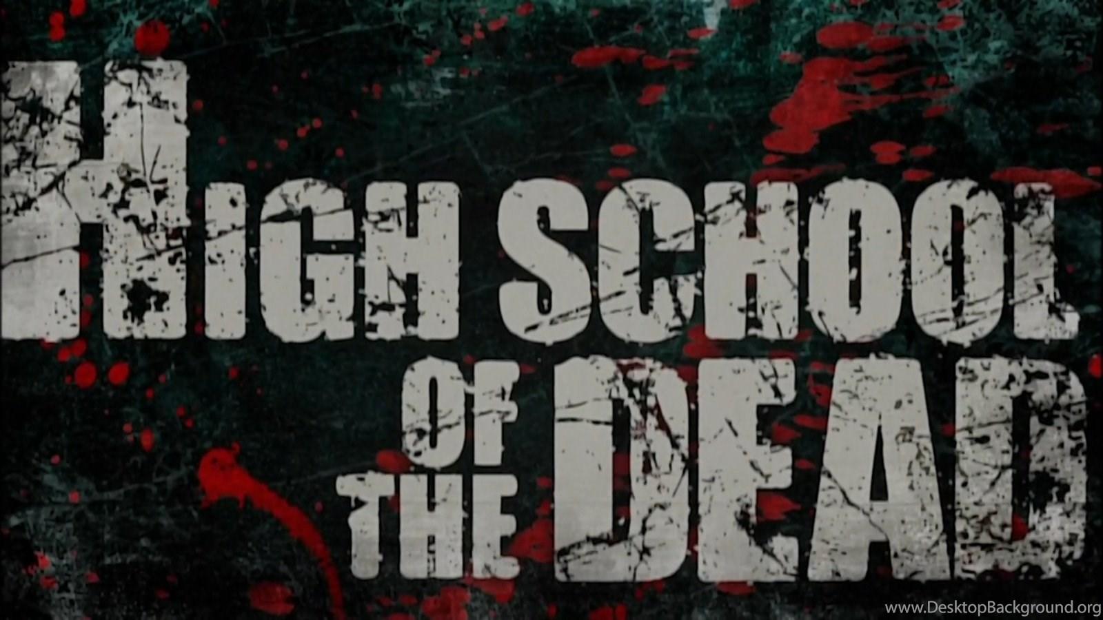 Wallpapers High School Of The Dead 1600x900 Desktop Background