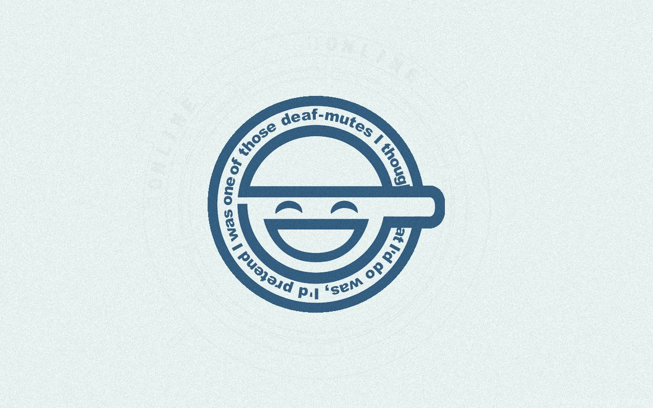 Smiley Laughing Man Ghost In The Shell Desktop And Mobile Desktop Background