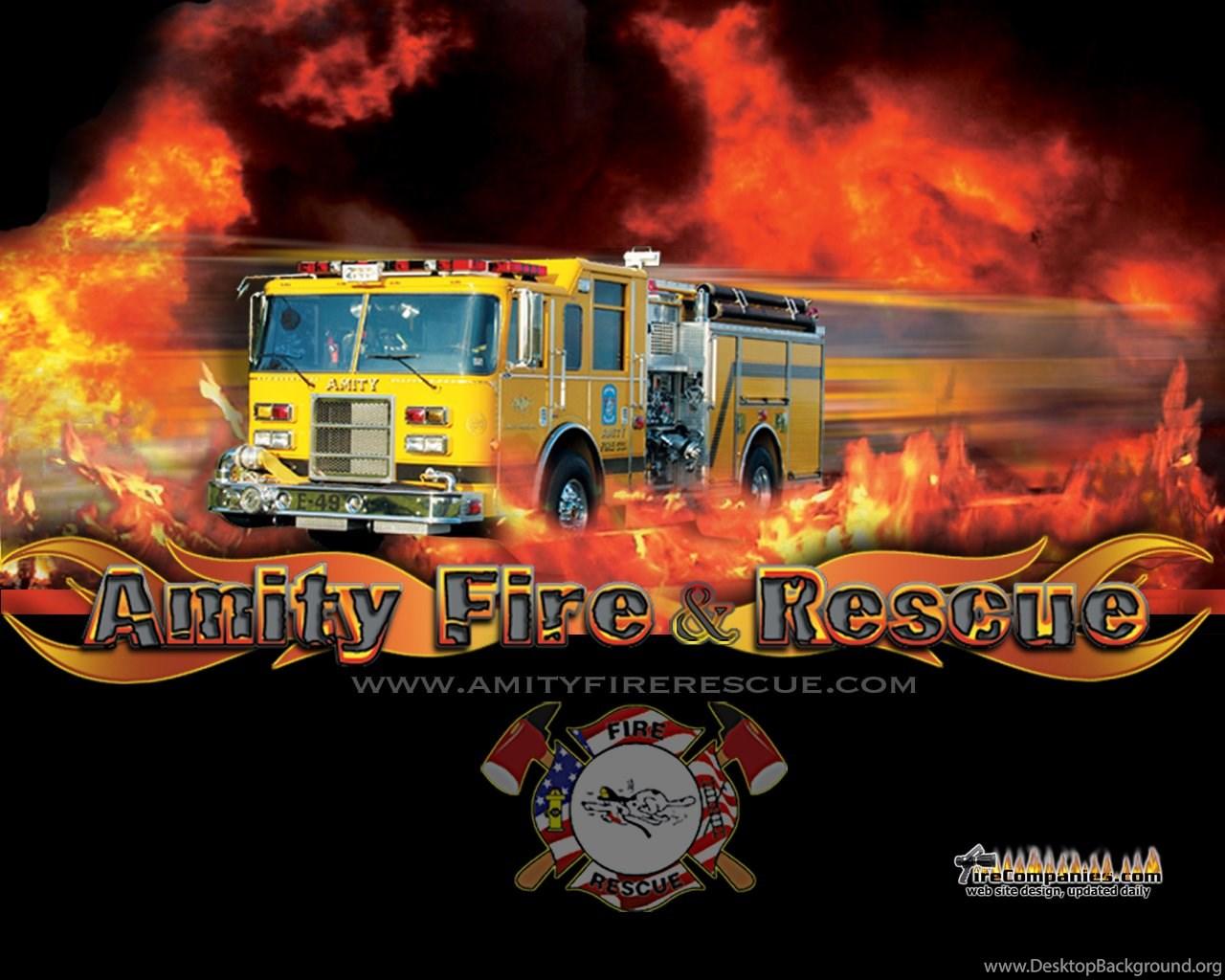 Amity Fire Rescue Desktop Background