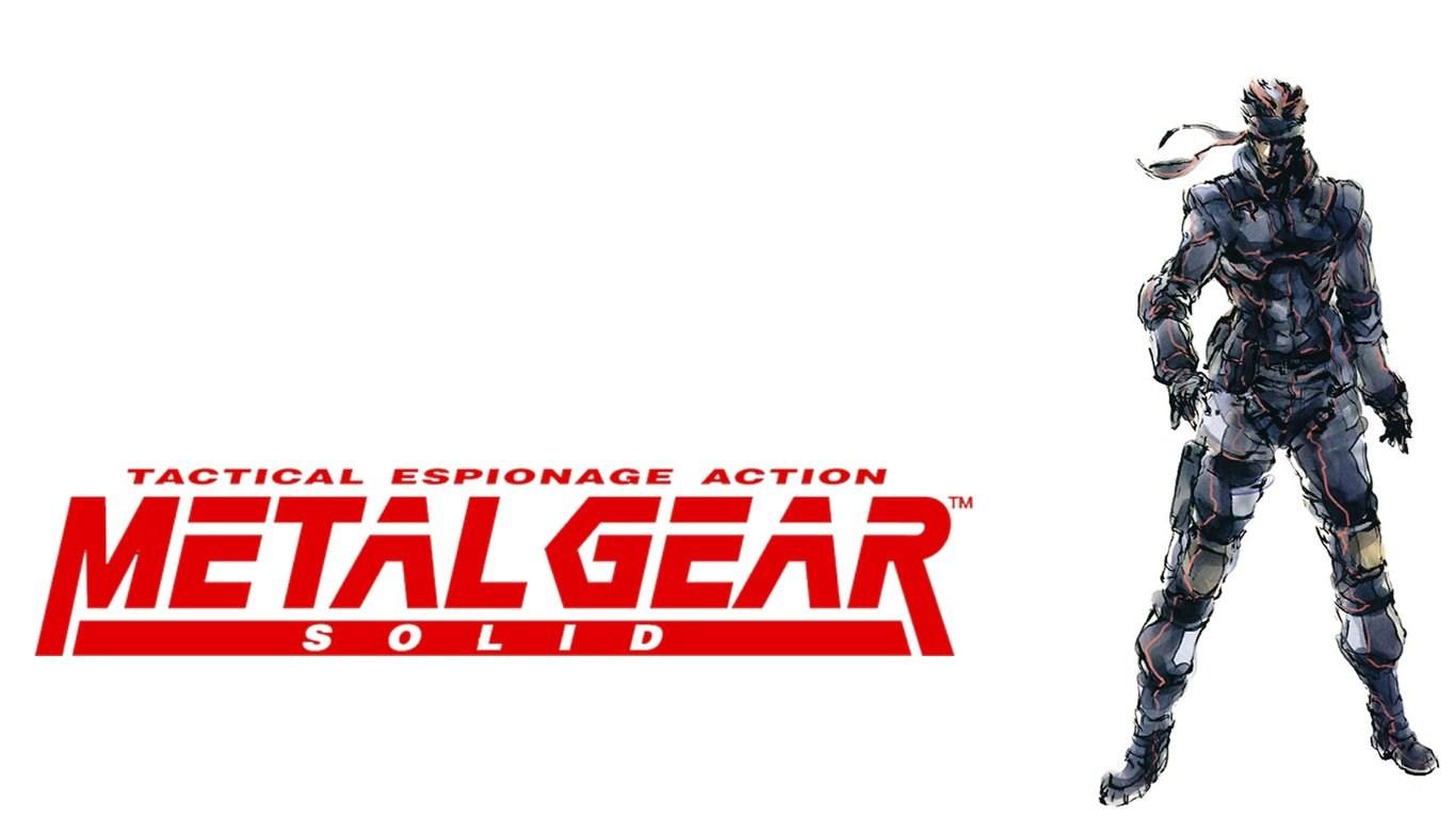 Video Games Mgs Metal Gear Solid Snake Desktop Background