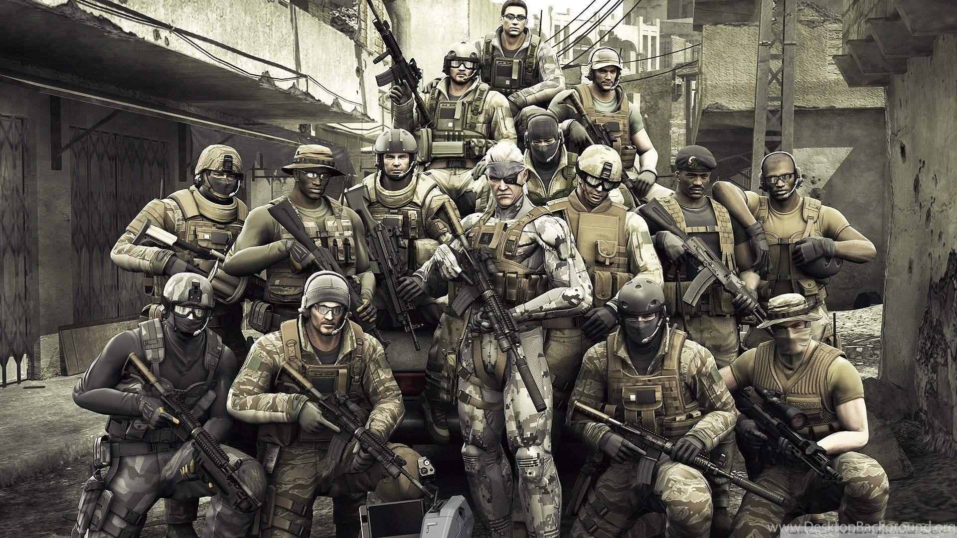 Metal Gear Solid 4 Wallpapers 1920x1080 Desktop Background