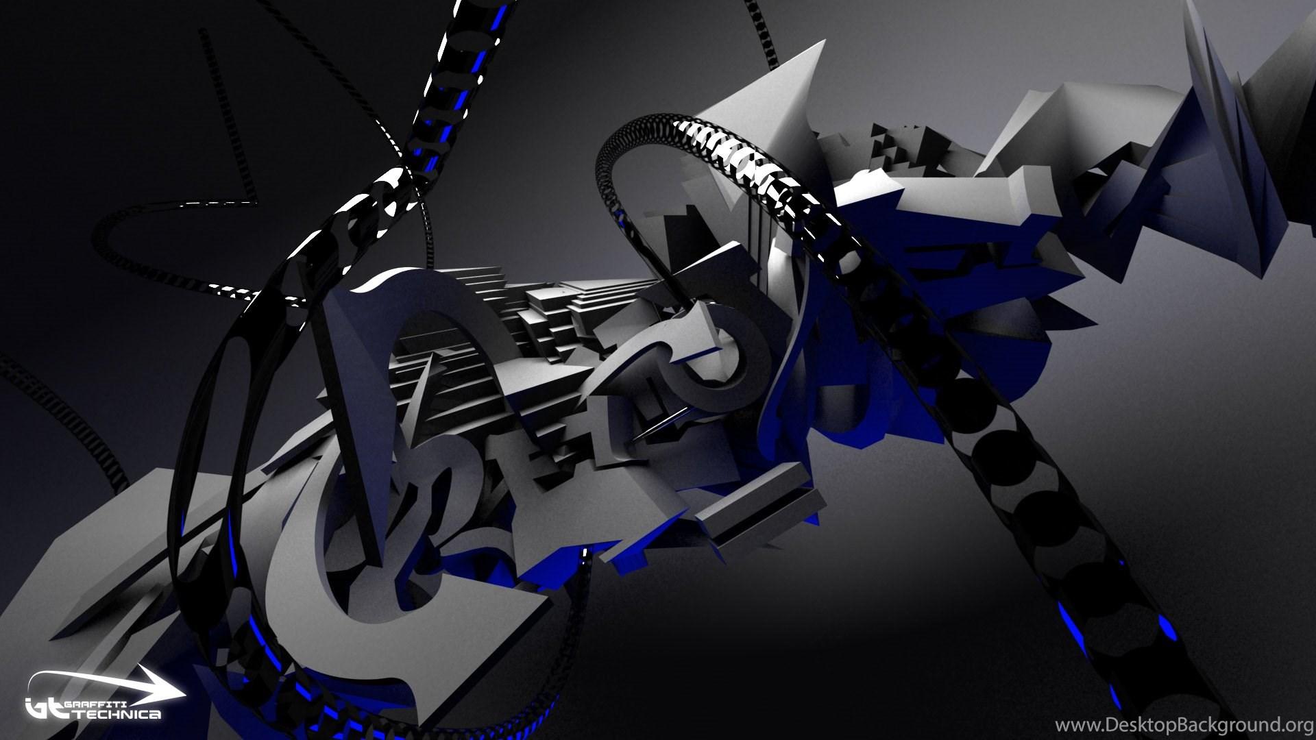 Wallpapers 3d Graffiti Desktop Background