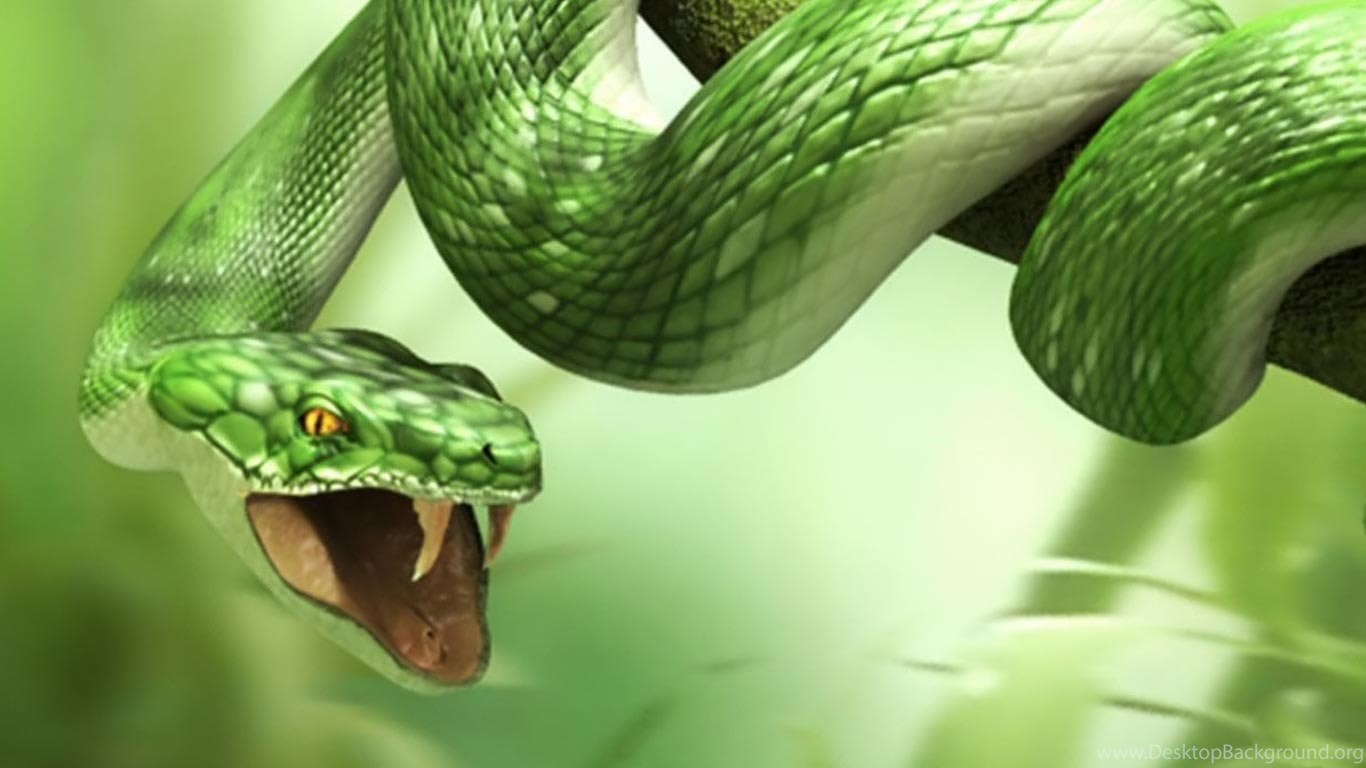 3d snake hd wallpapers for laptop 1366x768 desktop background