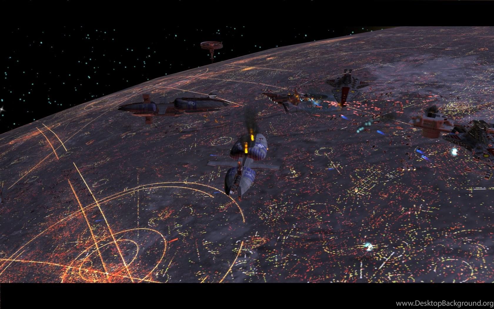 Coruscant Battle Redux Image Republic At War Mod For Star Wars Desktop Background