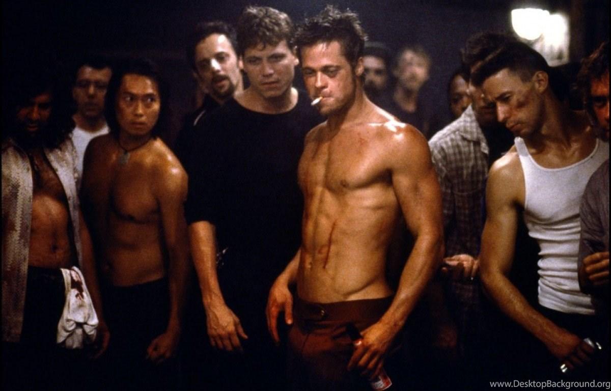 Brad Pitt Fight Club Wallpapers Desktop Background