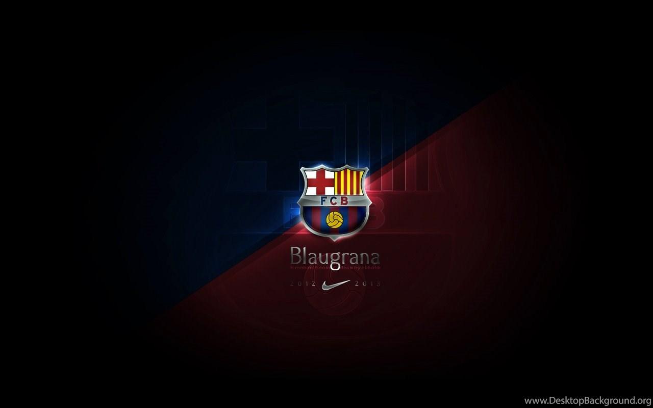 Fc Barcelona Logo 4k Wallpaper The Galleries Of Hd Wallpaper