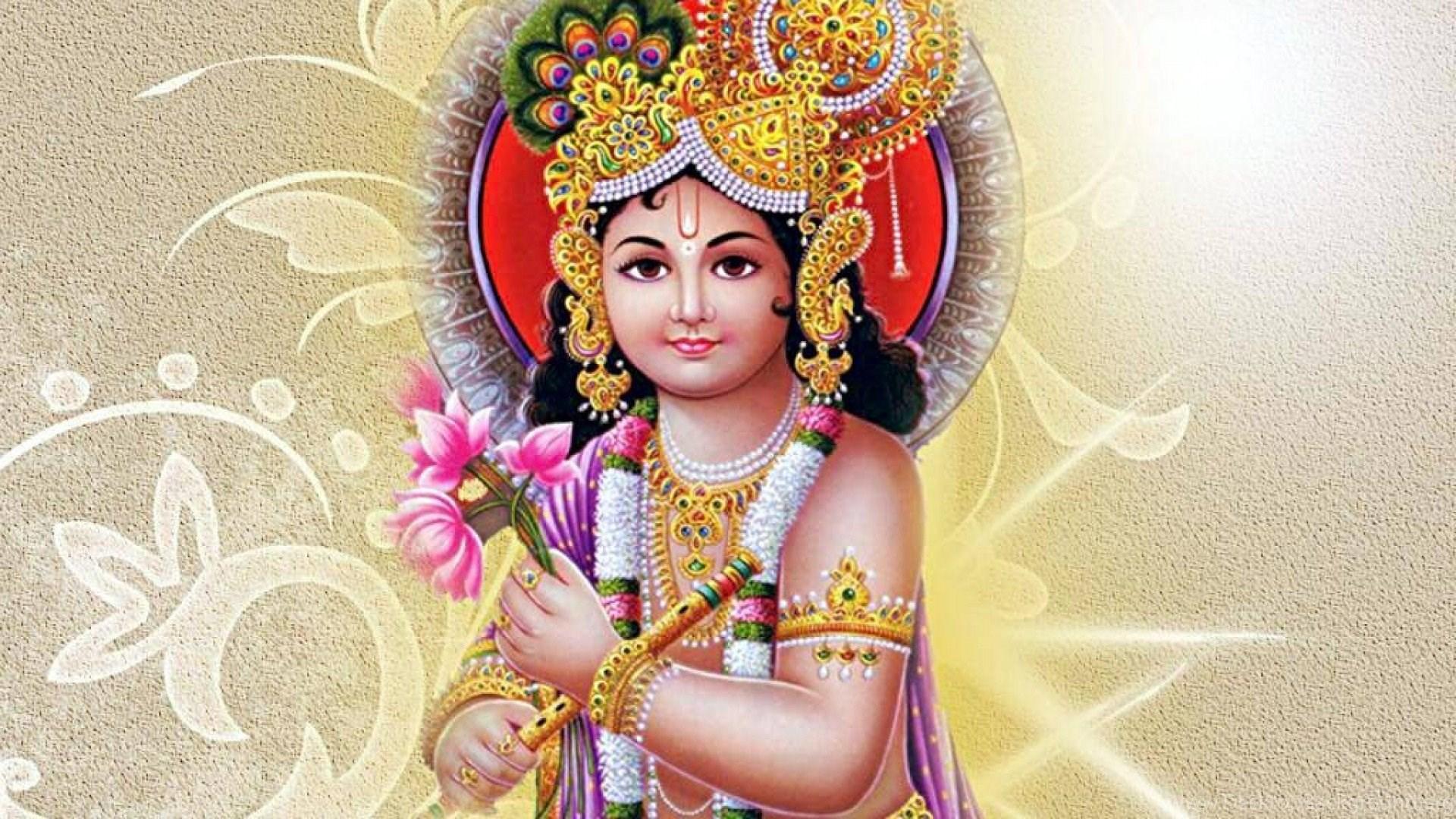 1920x1080 Lord Krishna Desktop Background