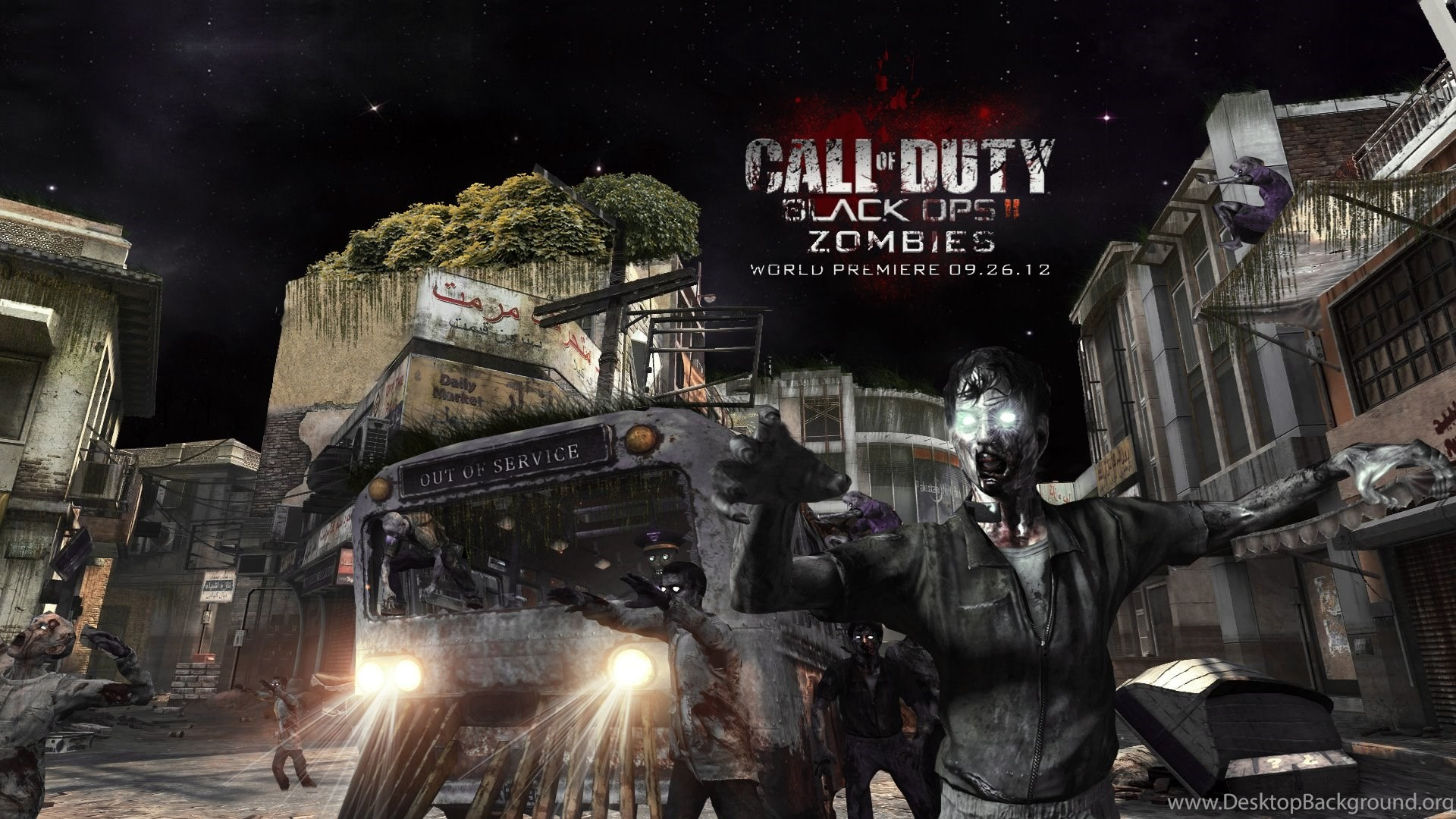Call Of Duty Black Ops 2 Zombies Wallpapers Desktop Background