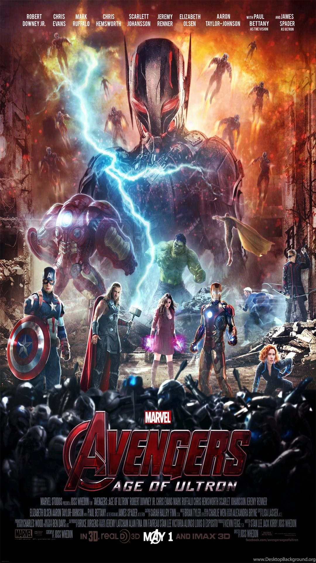 Avengers Age Of Ultron Iphone Wallpapers Desktop Background