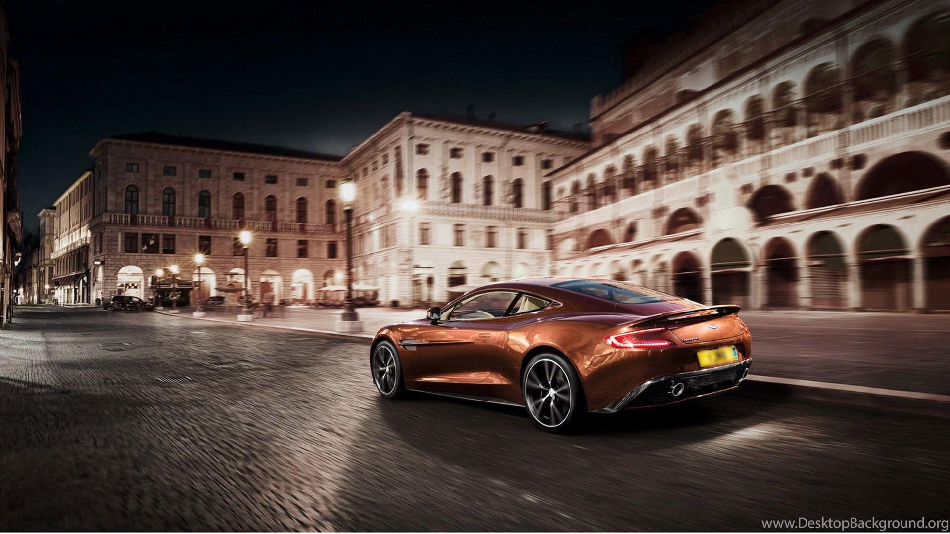 Aston Martin Vanquish Wallpaper Desktop Background