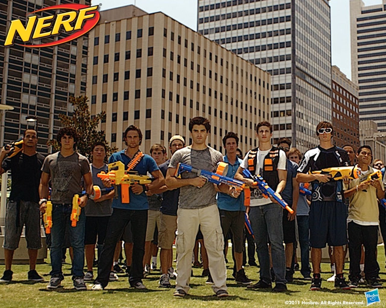 NERF NATION Wallpaper Desktop Background