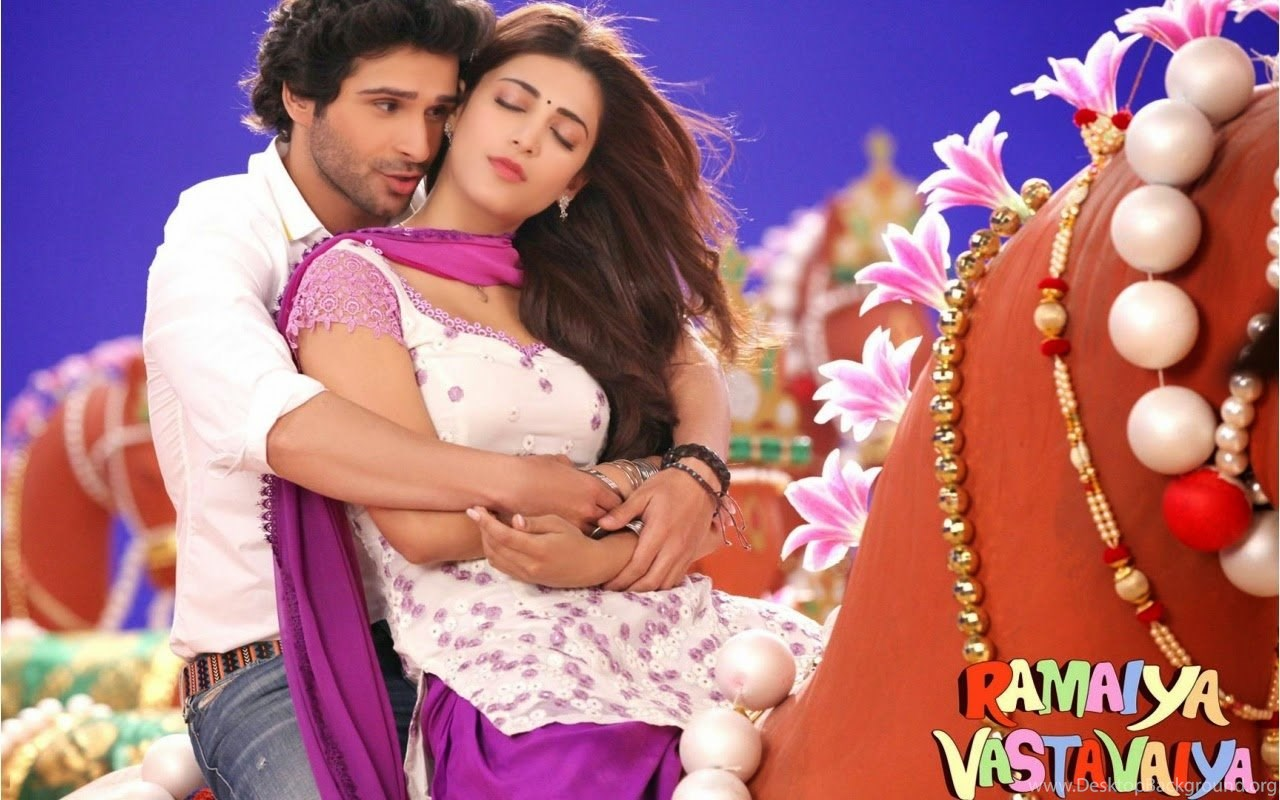 girish kumar and shruti haasan in ramaiya vastavaiya movie stills