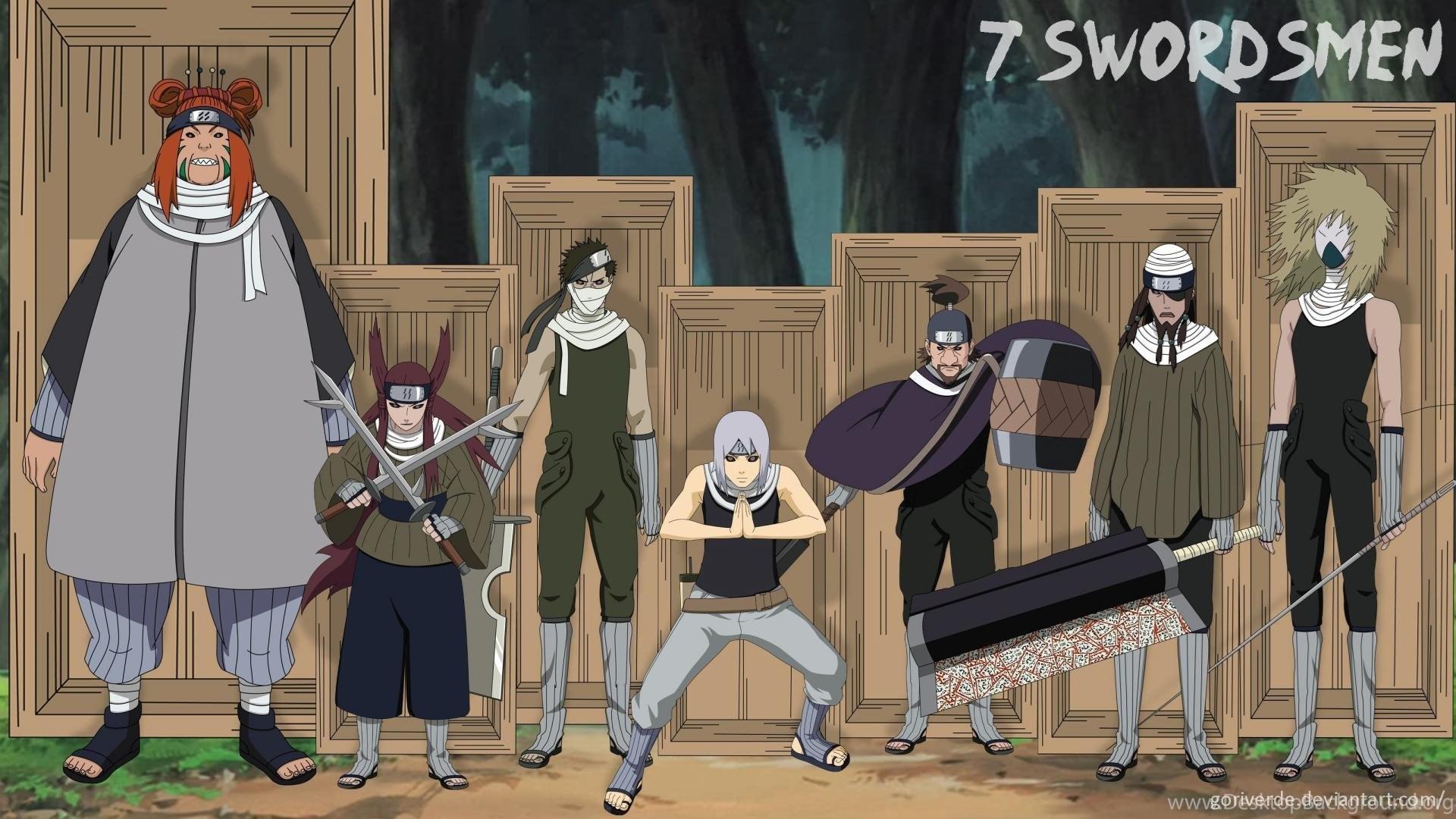 Naruto Shippuden Swordman Zabuza Momochi Edo Tensei Wallpapers Desktop Background