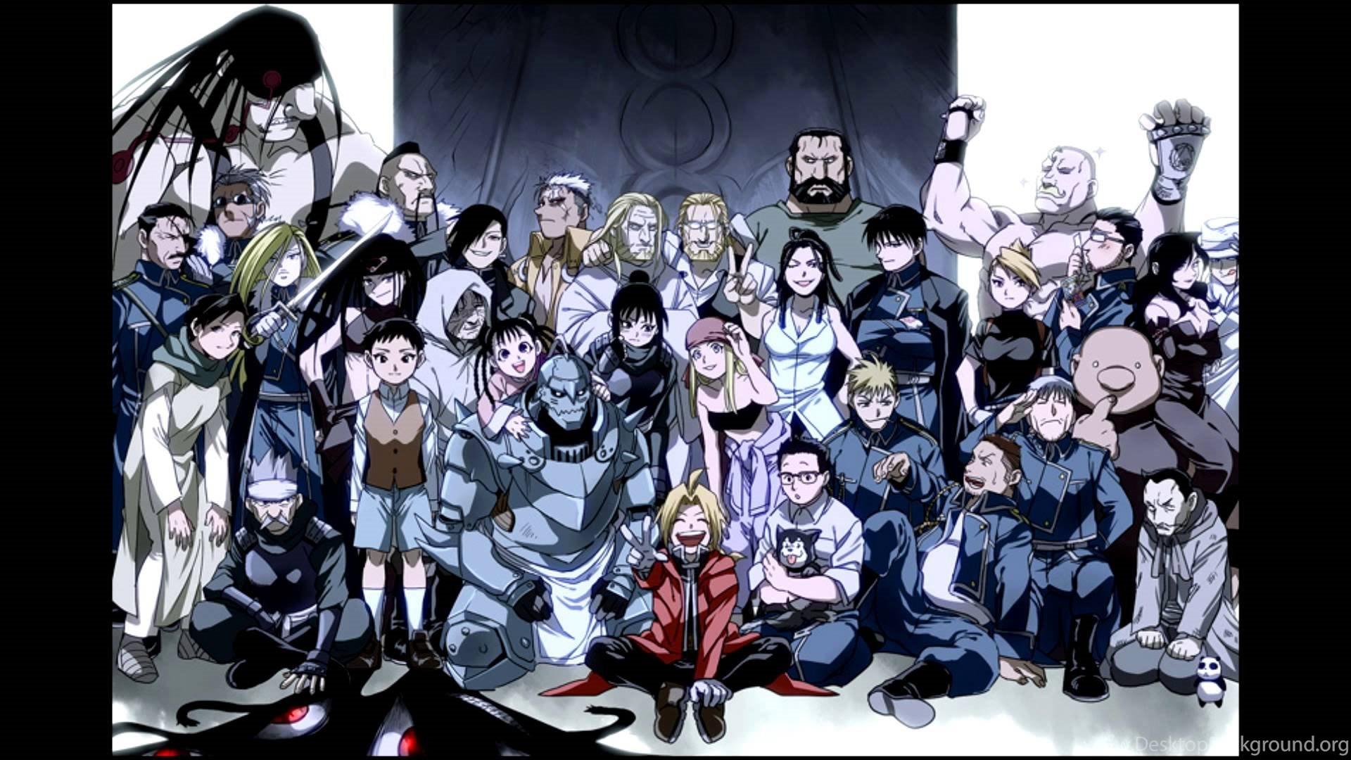 Top Hd Fullmetal Alchemist Brotherhood Wallpapers Desktop Background