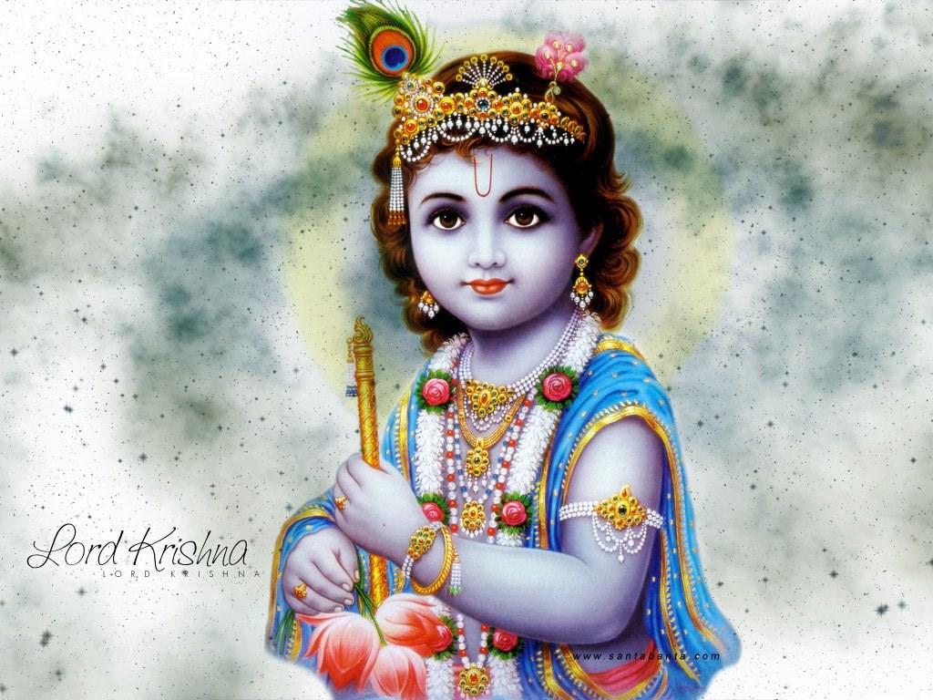 Cute Baby Krishna Wallpapers Free Desktop Background
