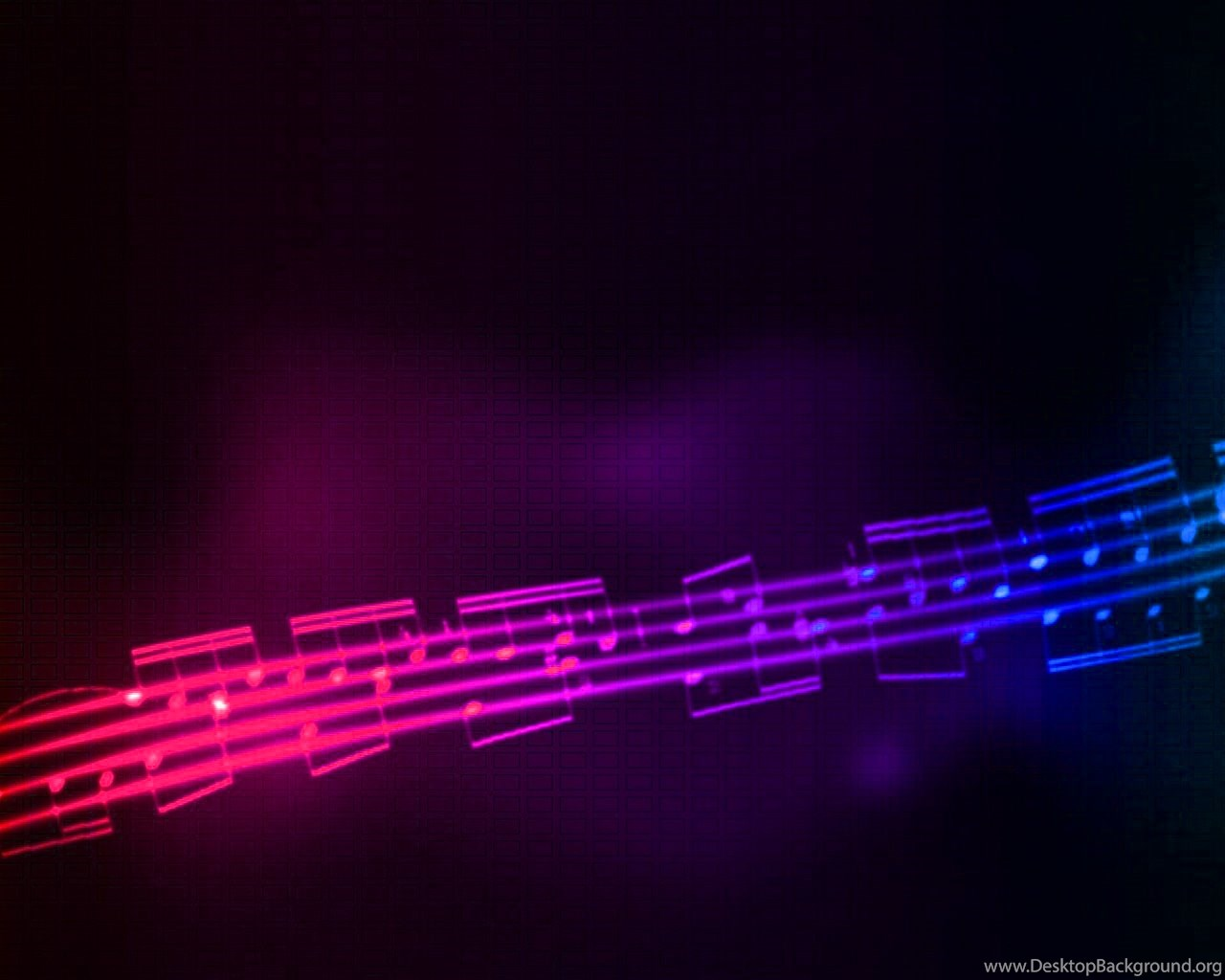 Rainbow Musical Note Music Is Life Happiness Hd Wallpapers Desktop