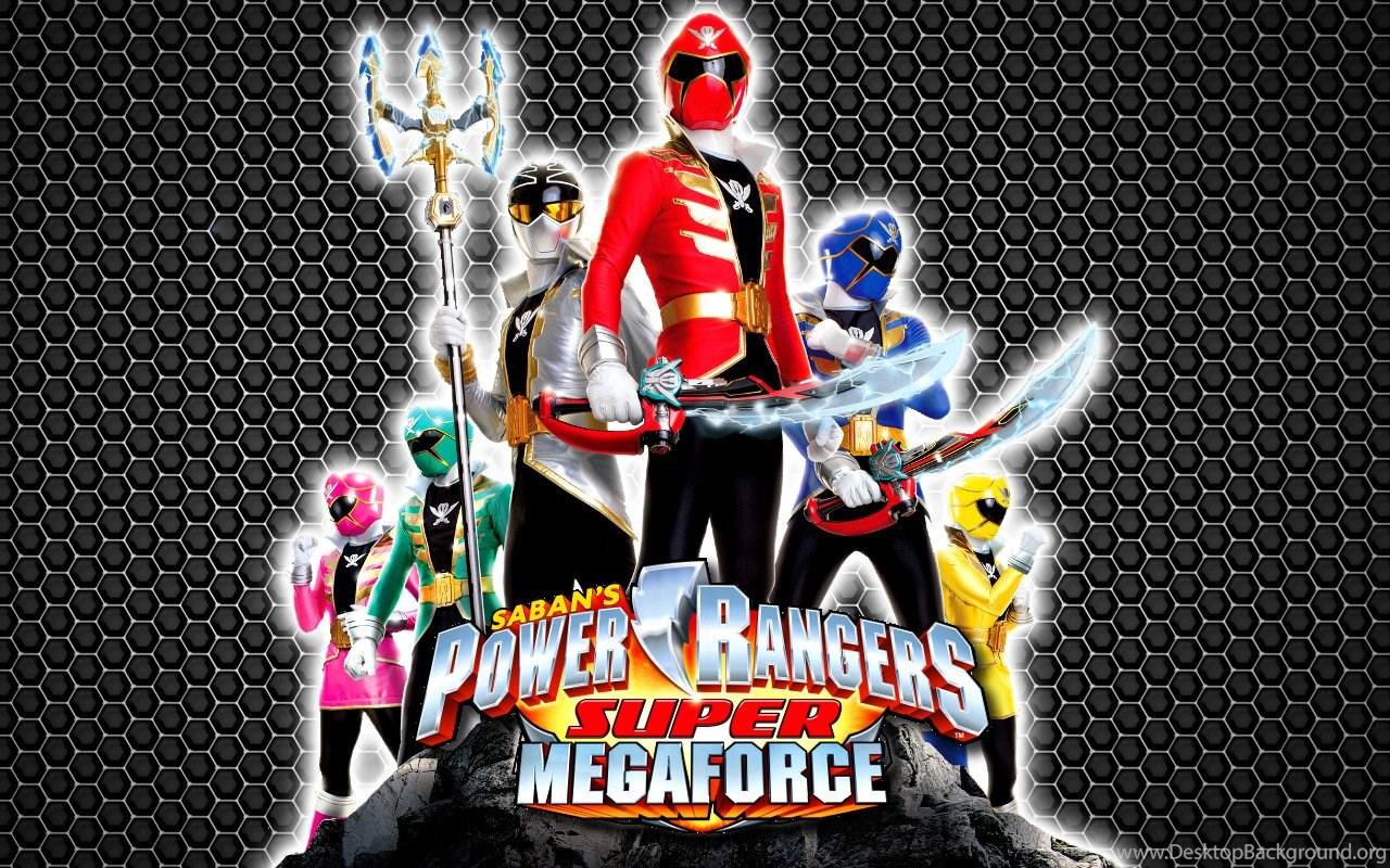 Power Rangers Super Megaforce Red Ranger Wallpaper Desktop Background