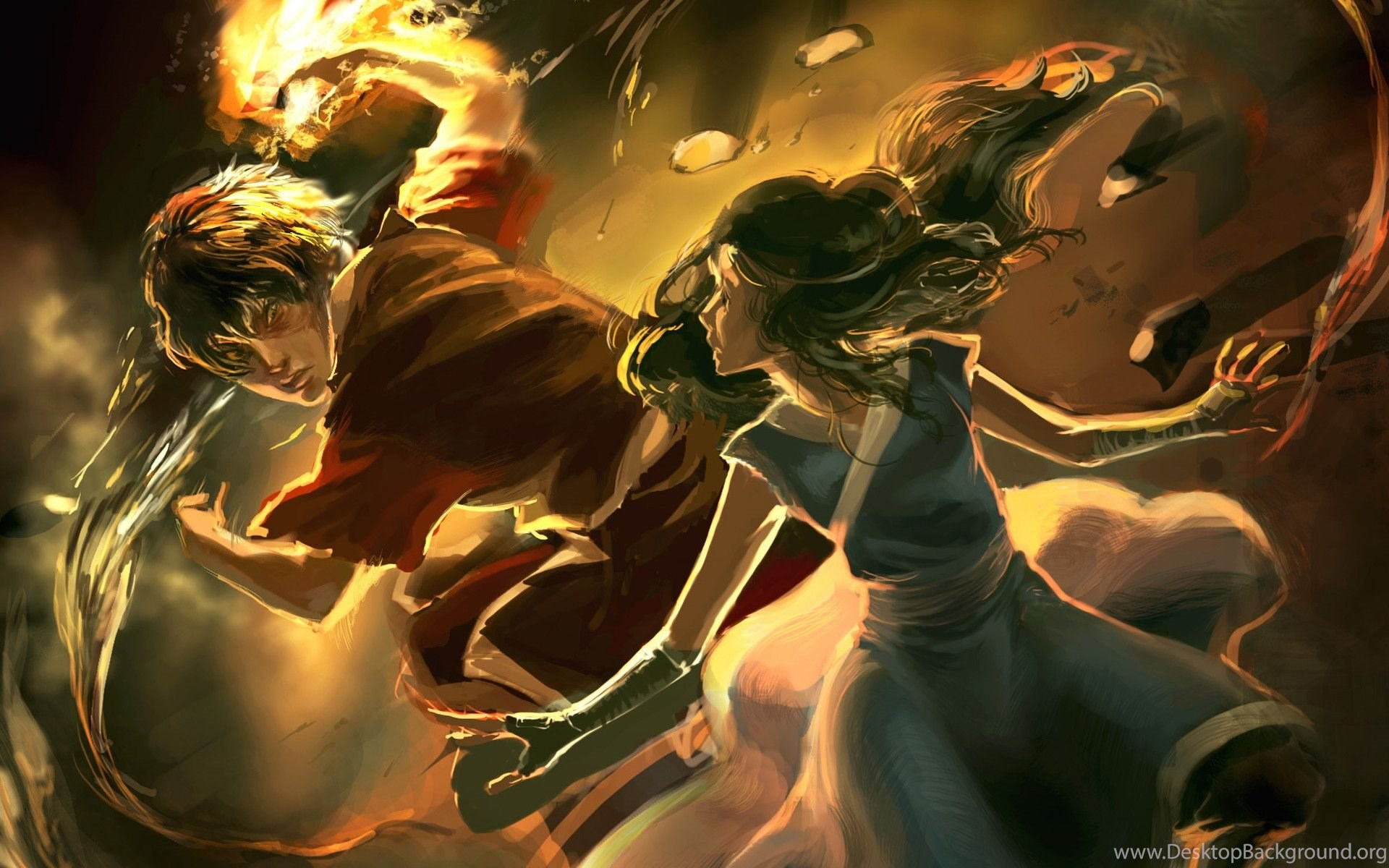Avatar The Last Airbender Backgrounds Wallpapers Cave Desktop