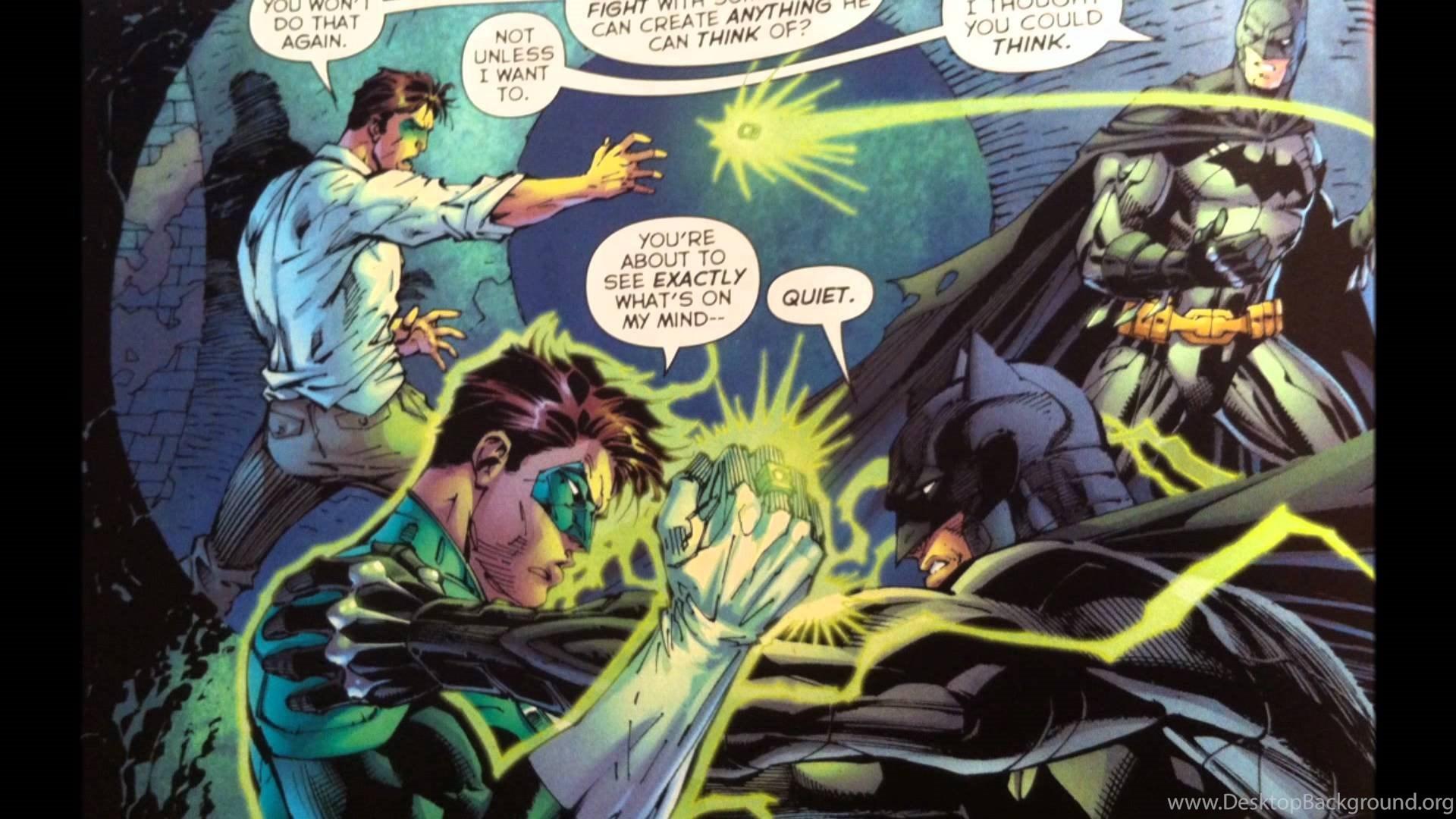Dc New 52 Justice League Desktop Background
