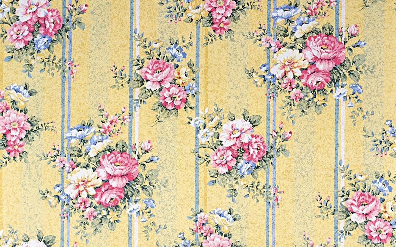 Old Vintage Floral Wallpapers Patterns Desktop Background