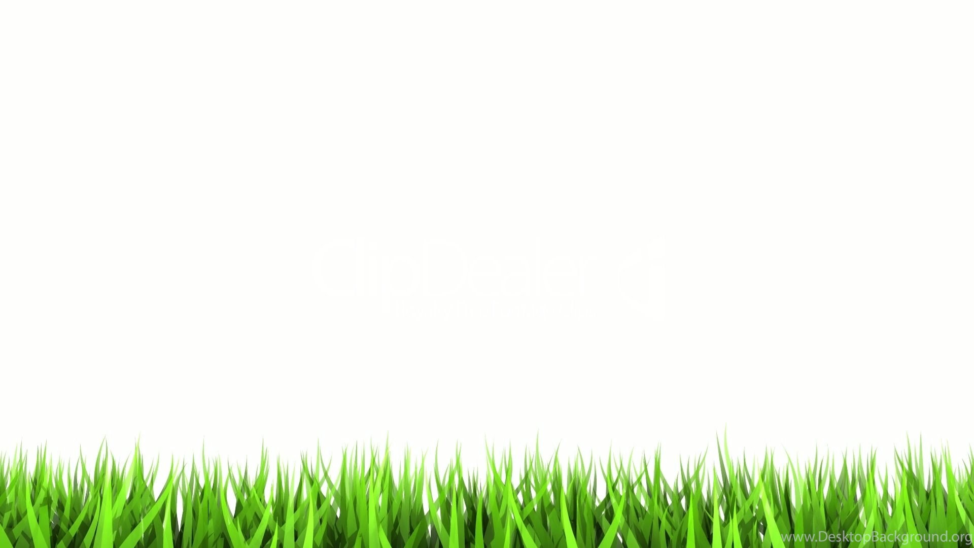 green grass on white background matte channel � be