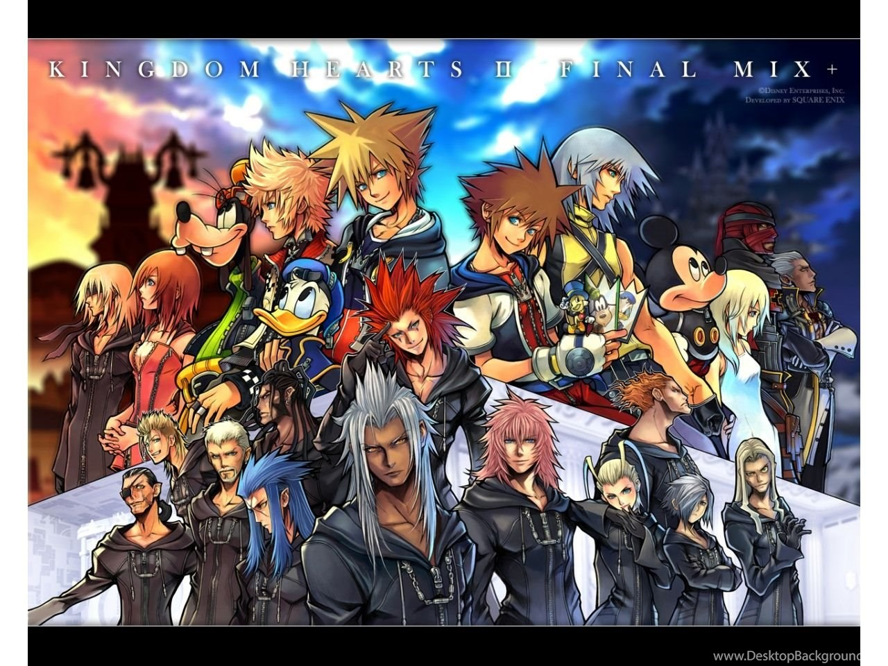 Kingdom Hearts Wallpapers Hd Wallpapers Cave Desktop Background