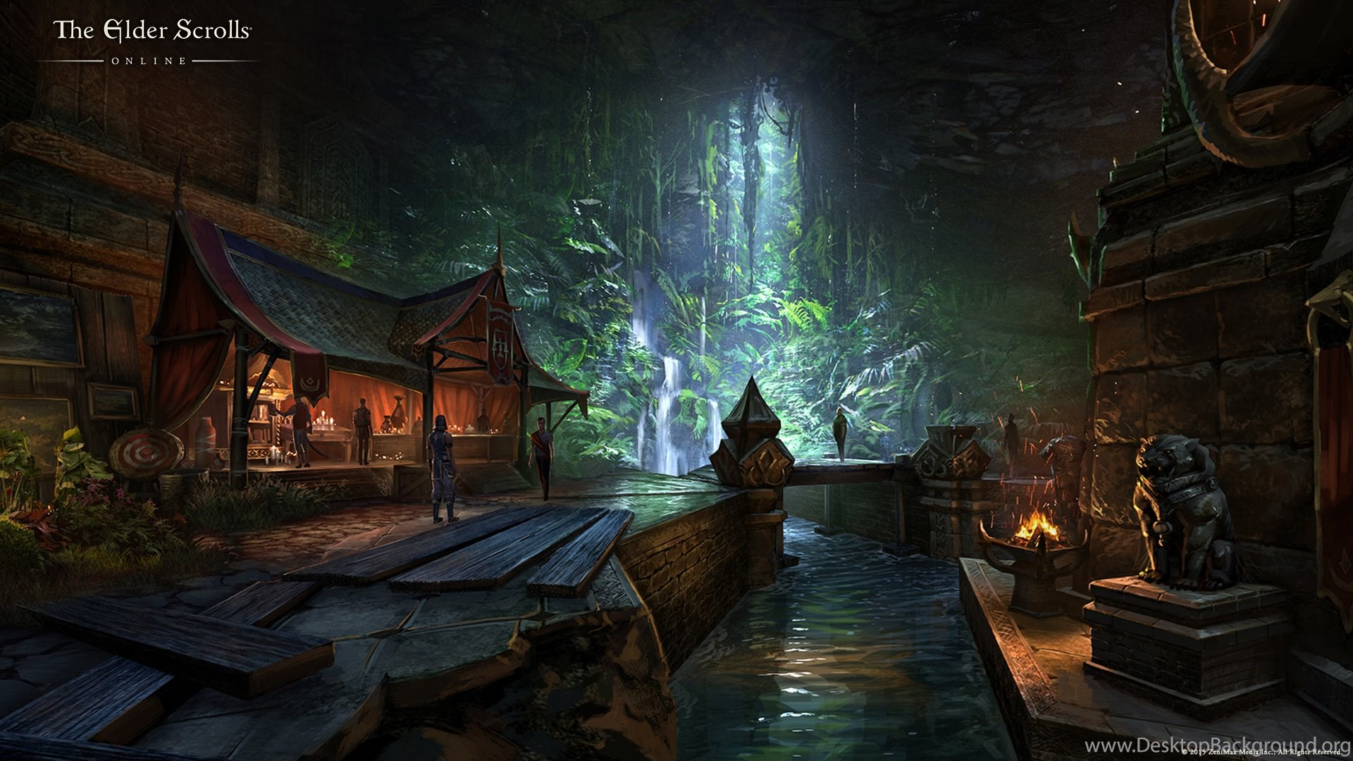 116 The Elder Scrolls Online Hd Wallpapers Desktop Background
