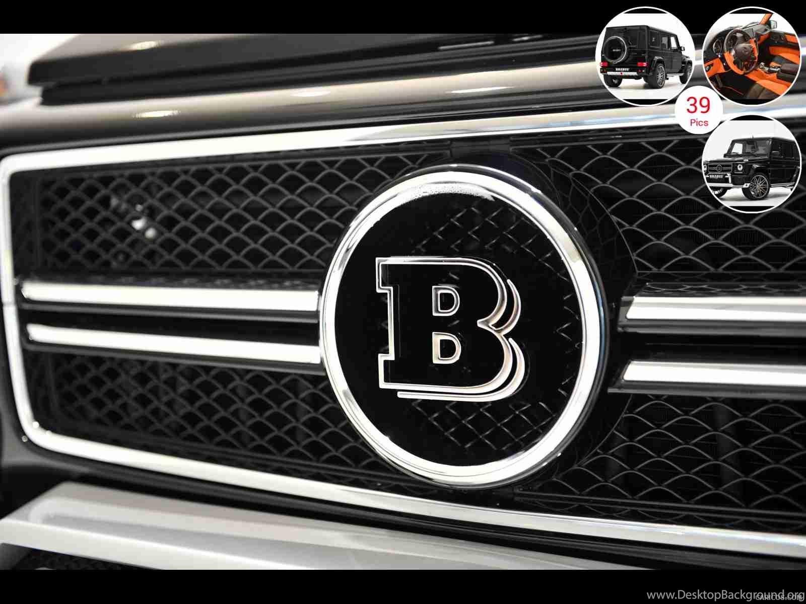 2013 BRABUS B63 620 WIDESTAR Based M Benz G63 AMG Badge Grill