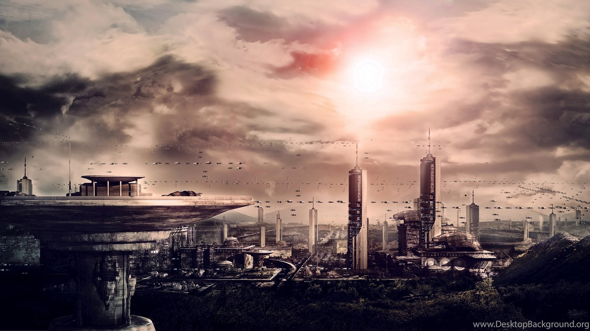 Future City Hd Wallpapers Future City Pictures Cool Wallpapers ...
