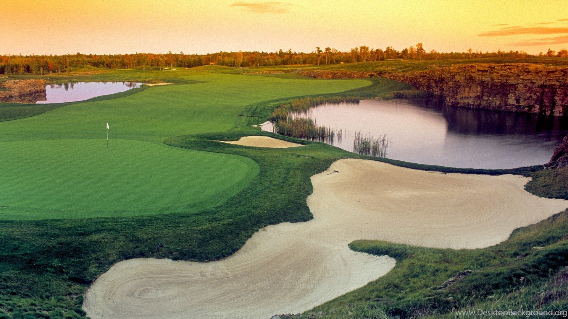 Golf Course Wallpapers 1920x1080 Desktop Background
